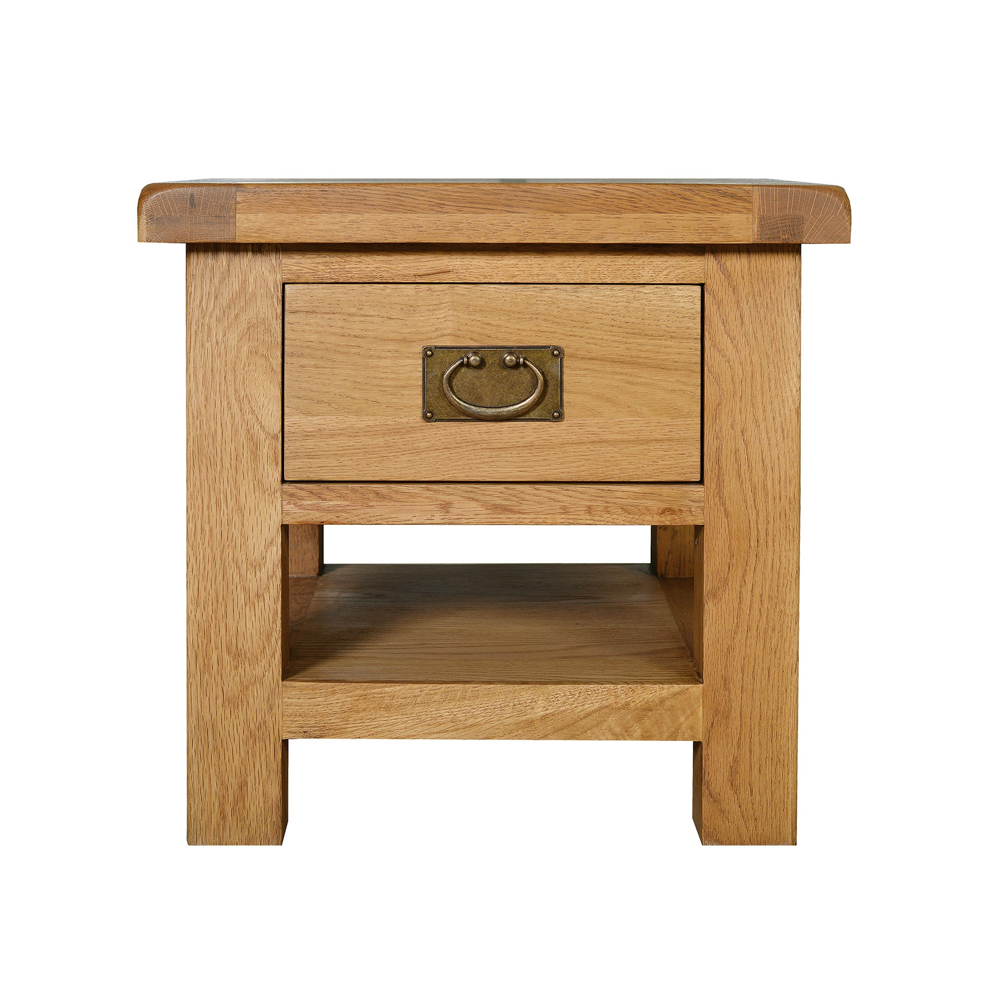 Chichester Oak Lamp Table with Drawer
