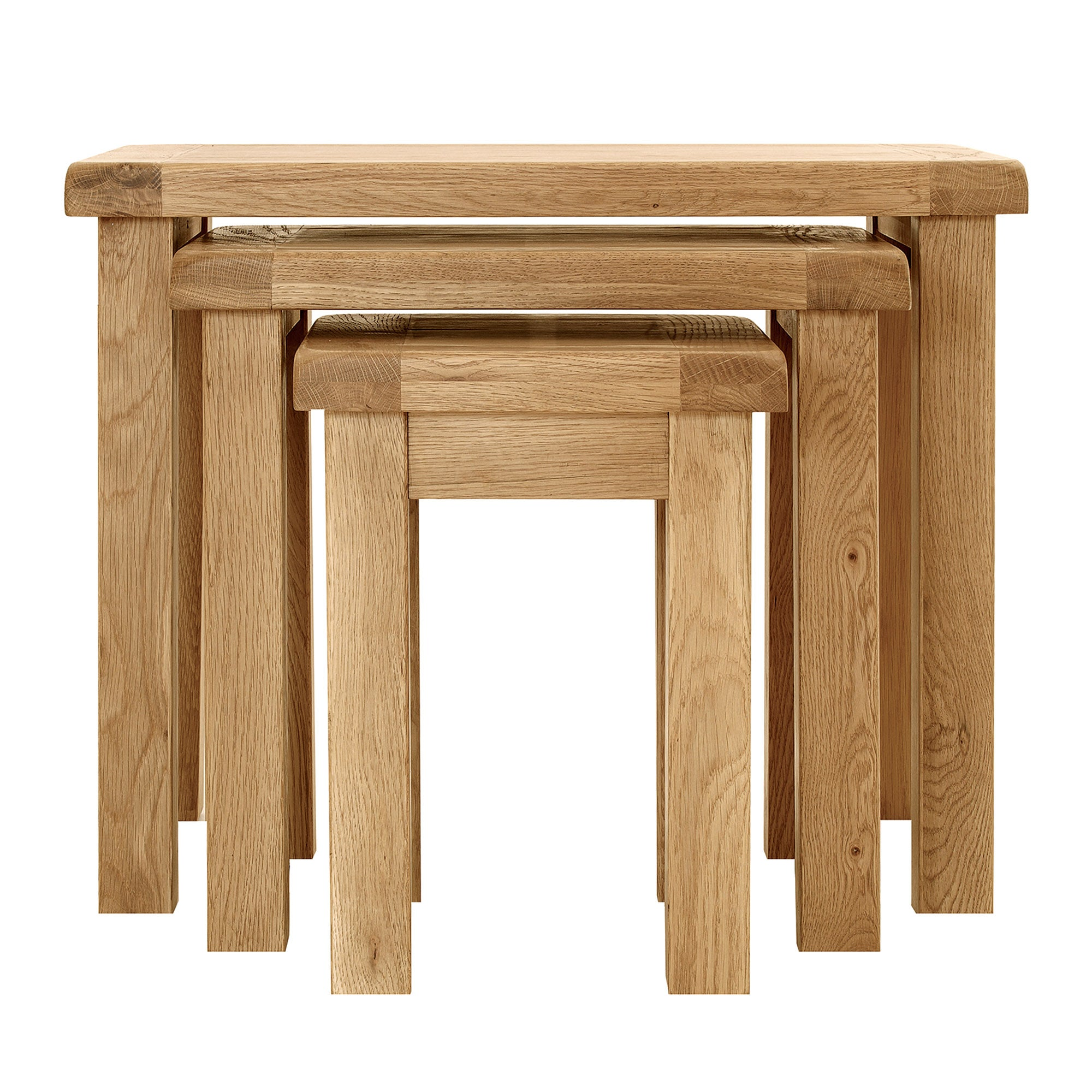 Chichester Oak Nest of Tables