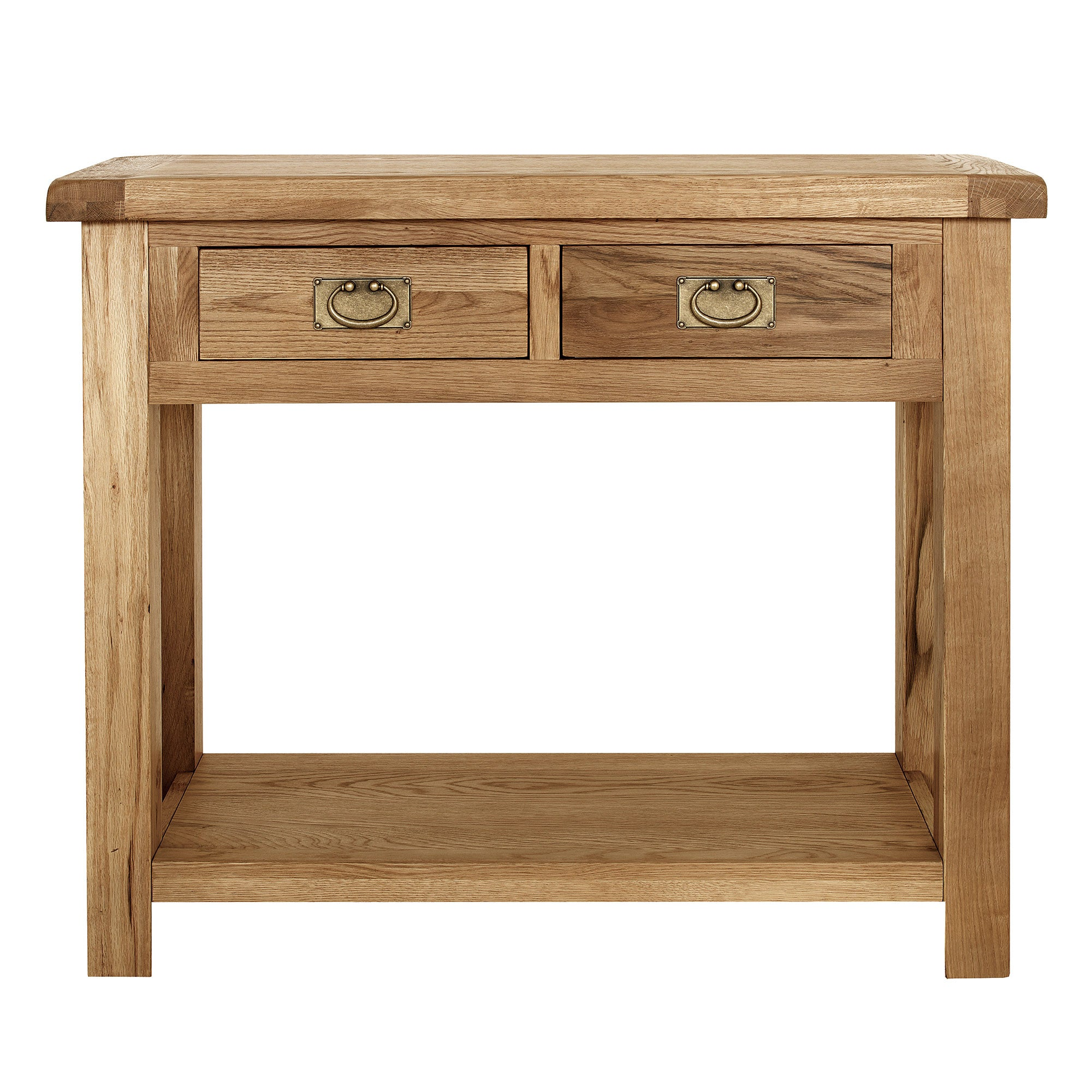 Aylesbury Oak Console Table