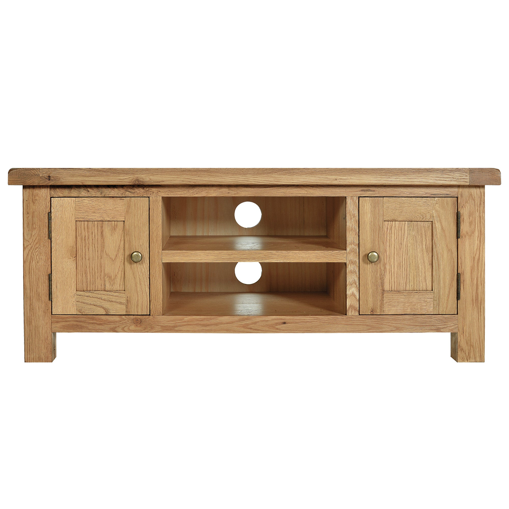 Chichester Oak Large TV Unit