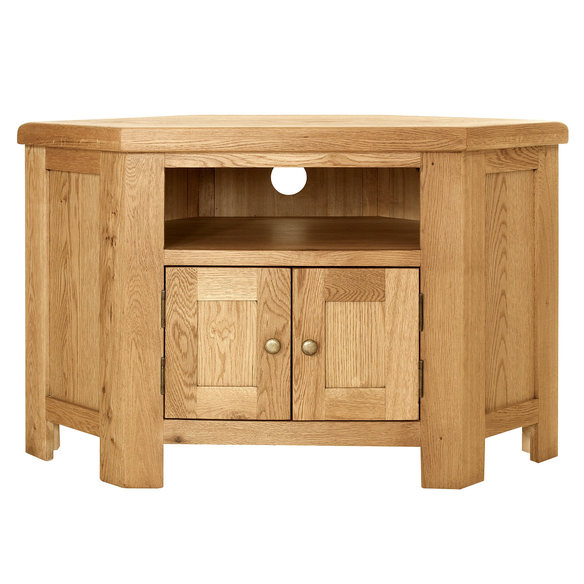 Chichester Oak Corner TV Unit