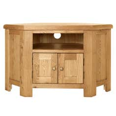 Aylesbury Oak Corner TV Unit