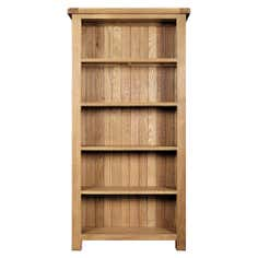 Chichester Oak Large Bookcase