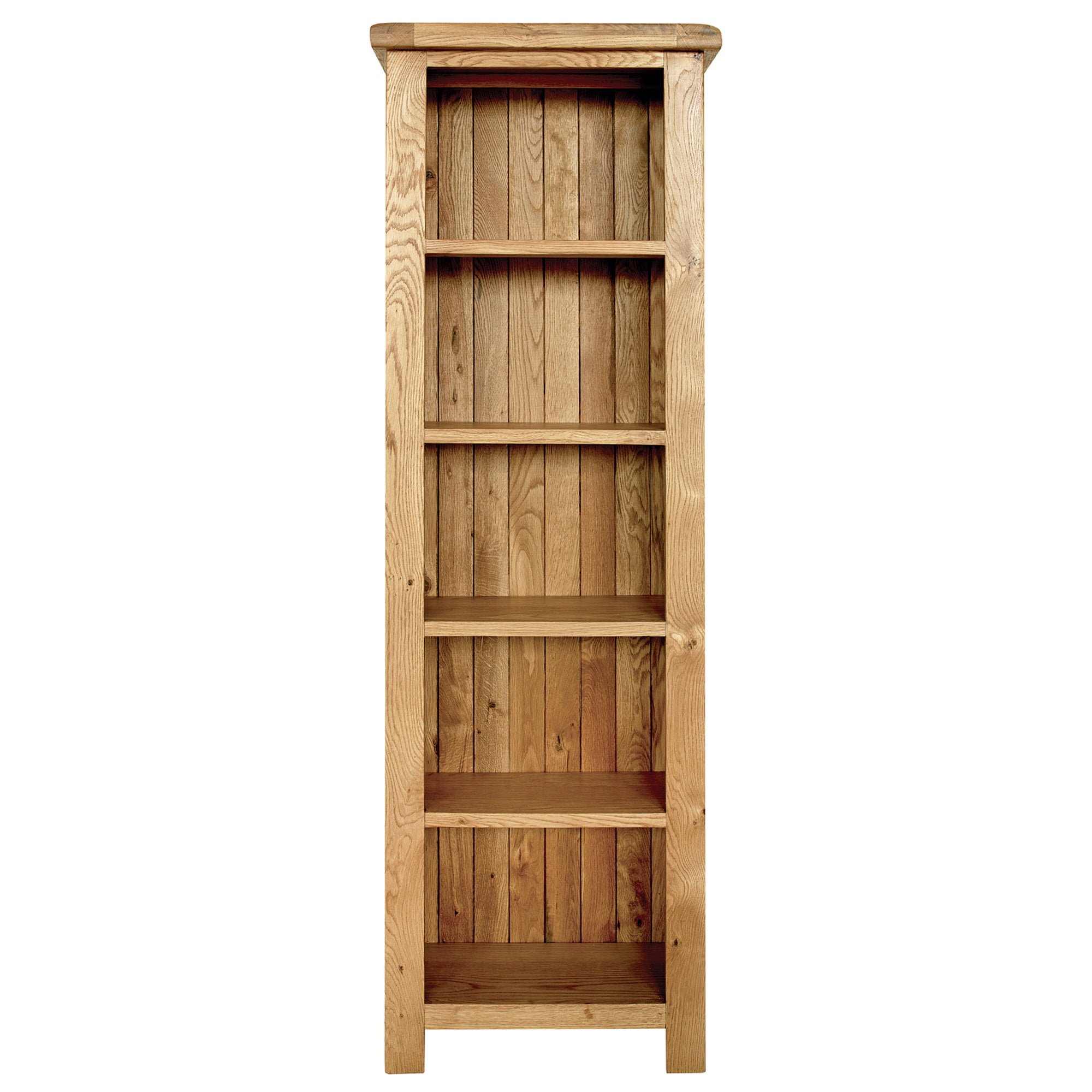 Aylesbury Oak Slim Bookcase