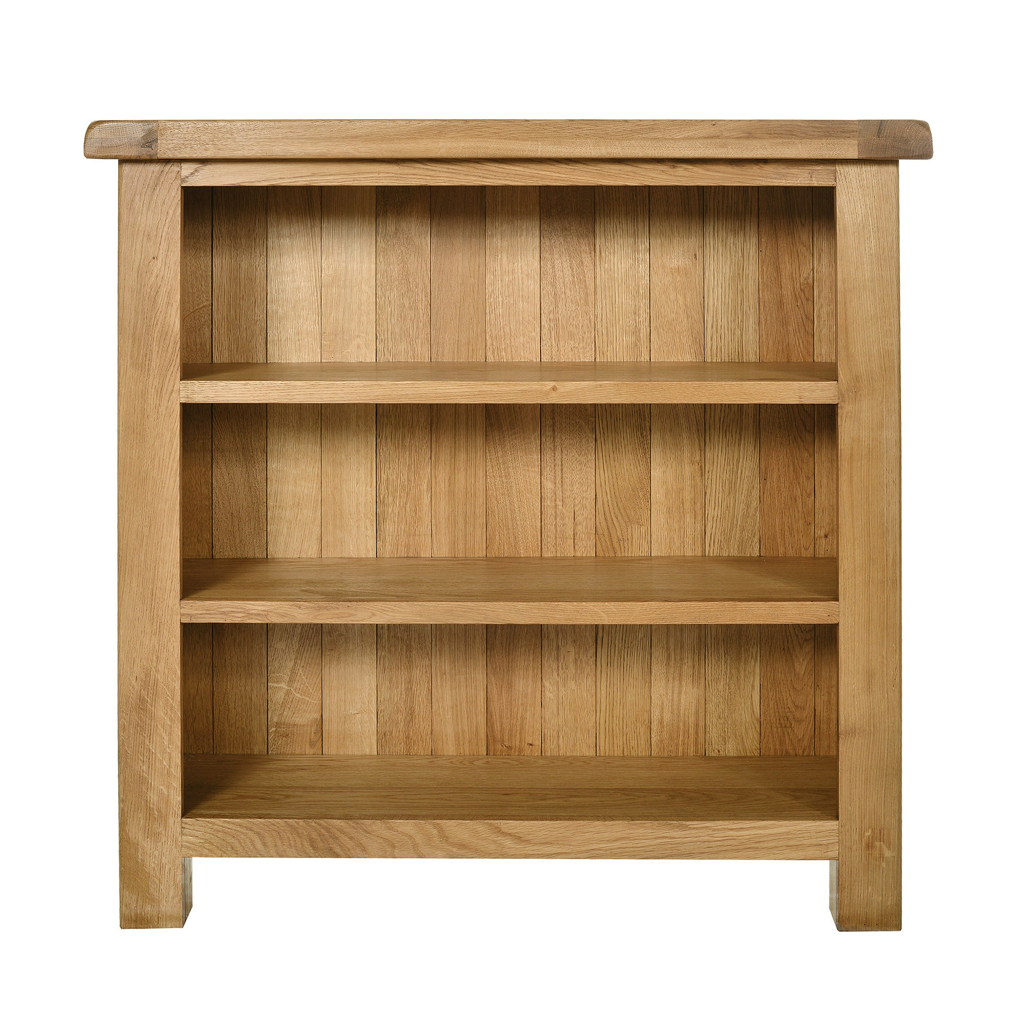Chichester Oak Low Bookcase