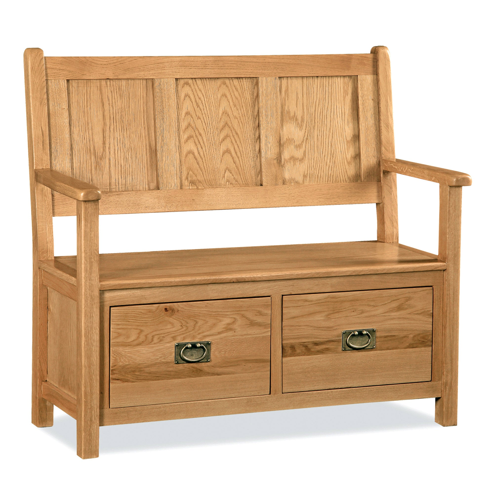 Chichester Oak Monks Bench