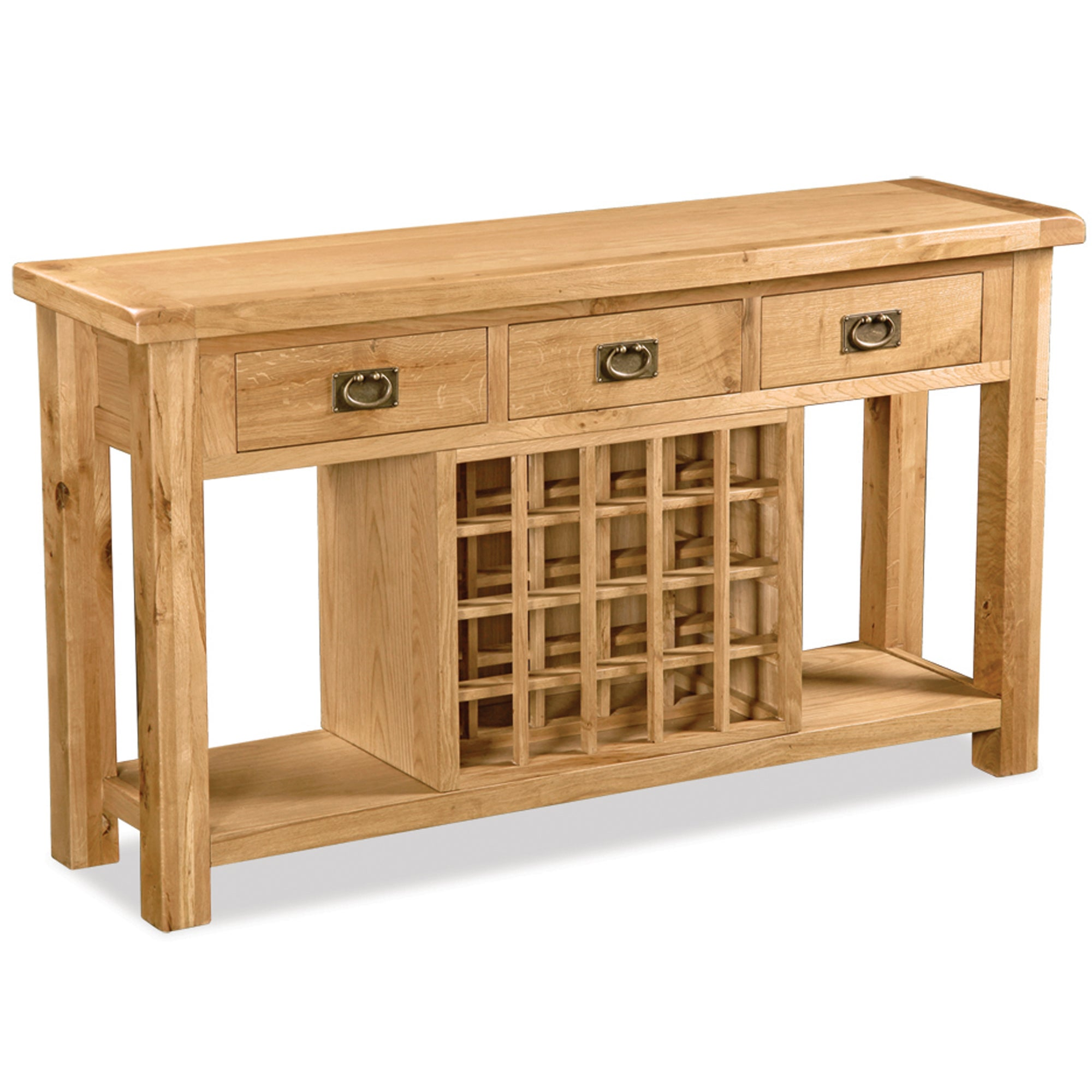 Chichester Oak Open Sideboard
