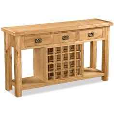 Aylesbury Oak Open Sideboard