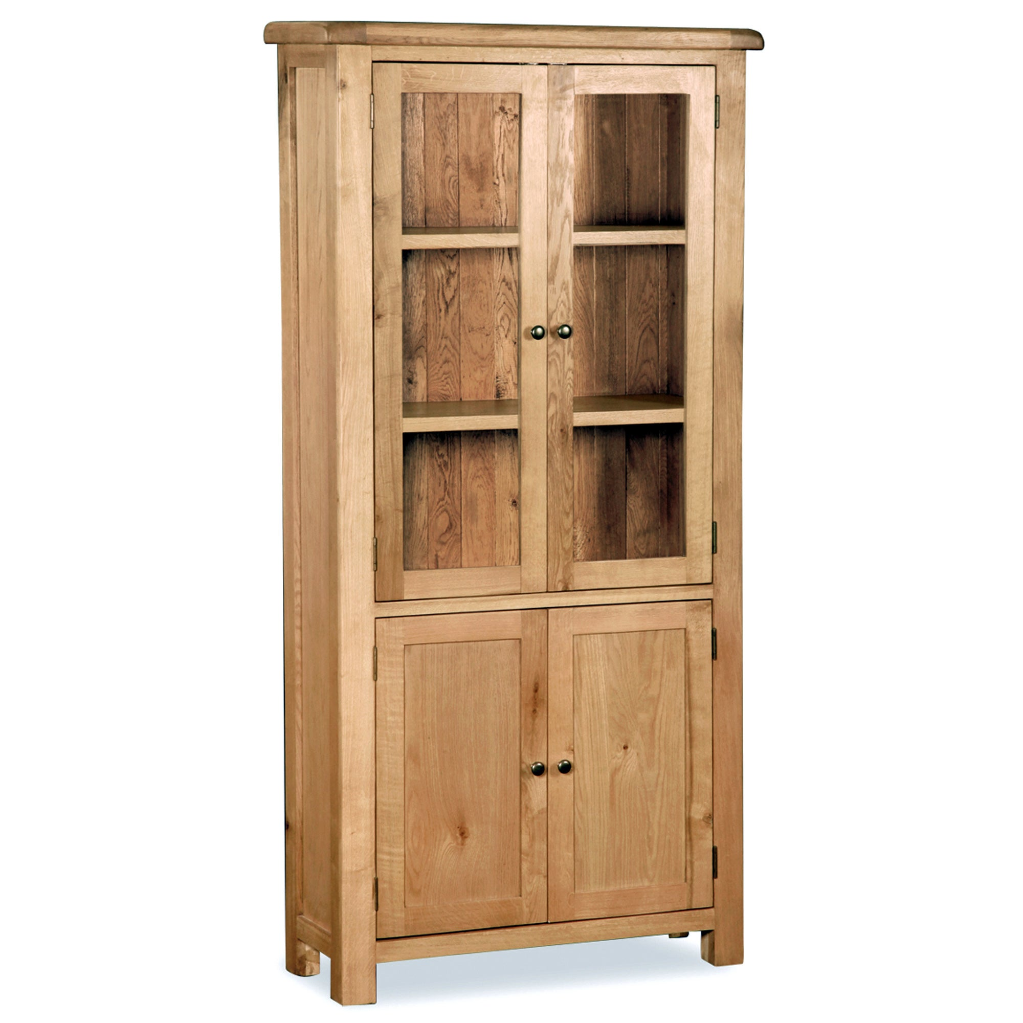 Aylesbury Oak Display Cabinet