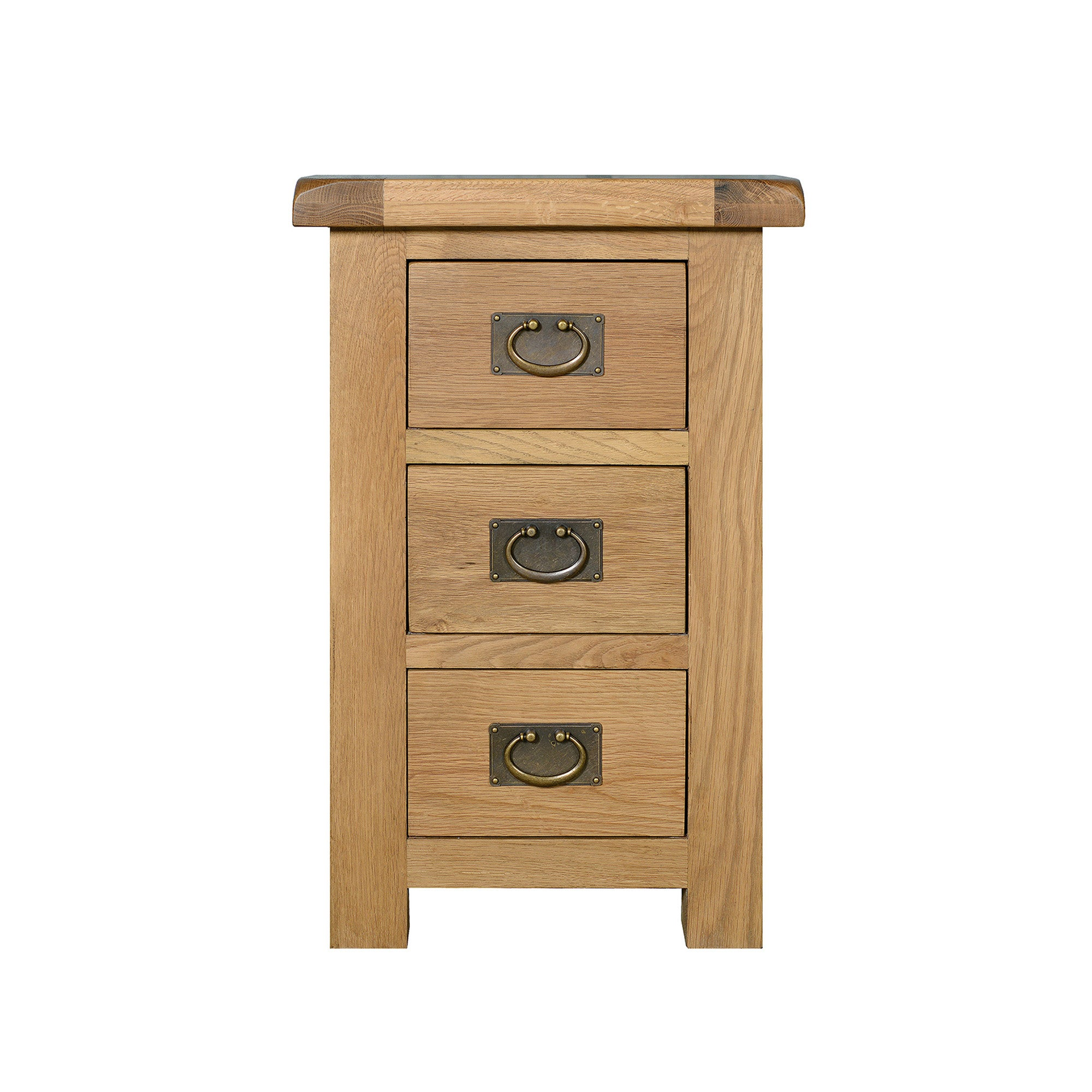 Chichester Oak Wide Bedside Cabinet