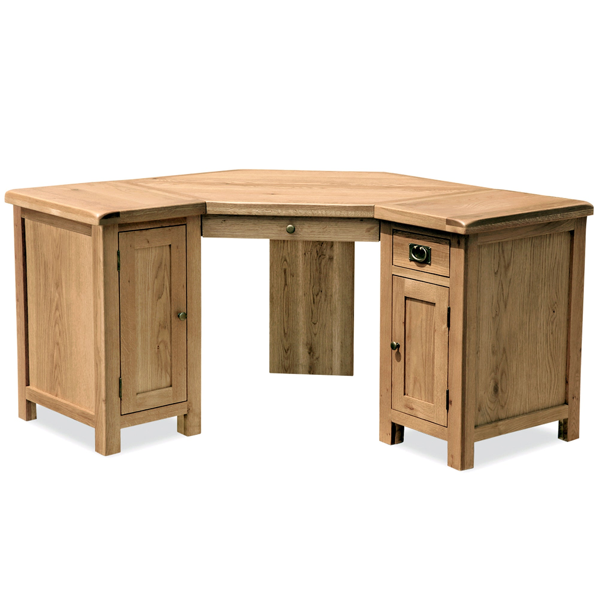 Chichester Oak Corner Desk