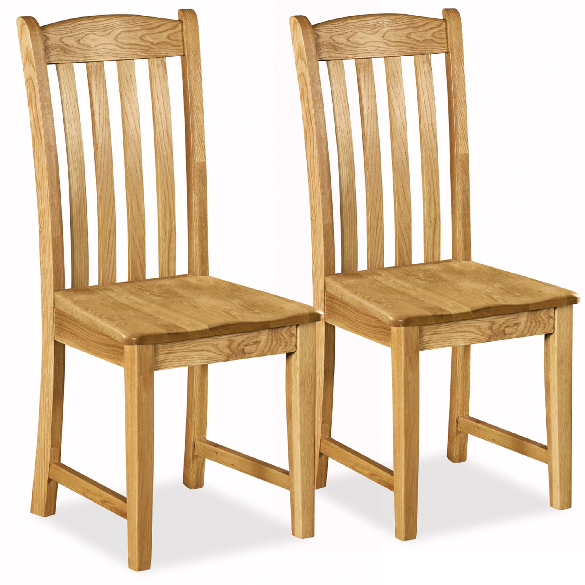 Aylesbury Pair of Oak Dining Chairs