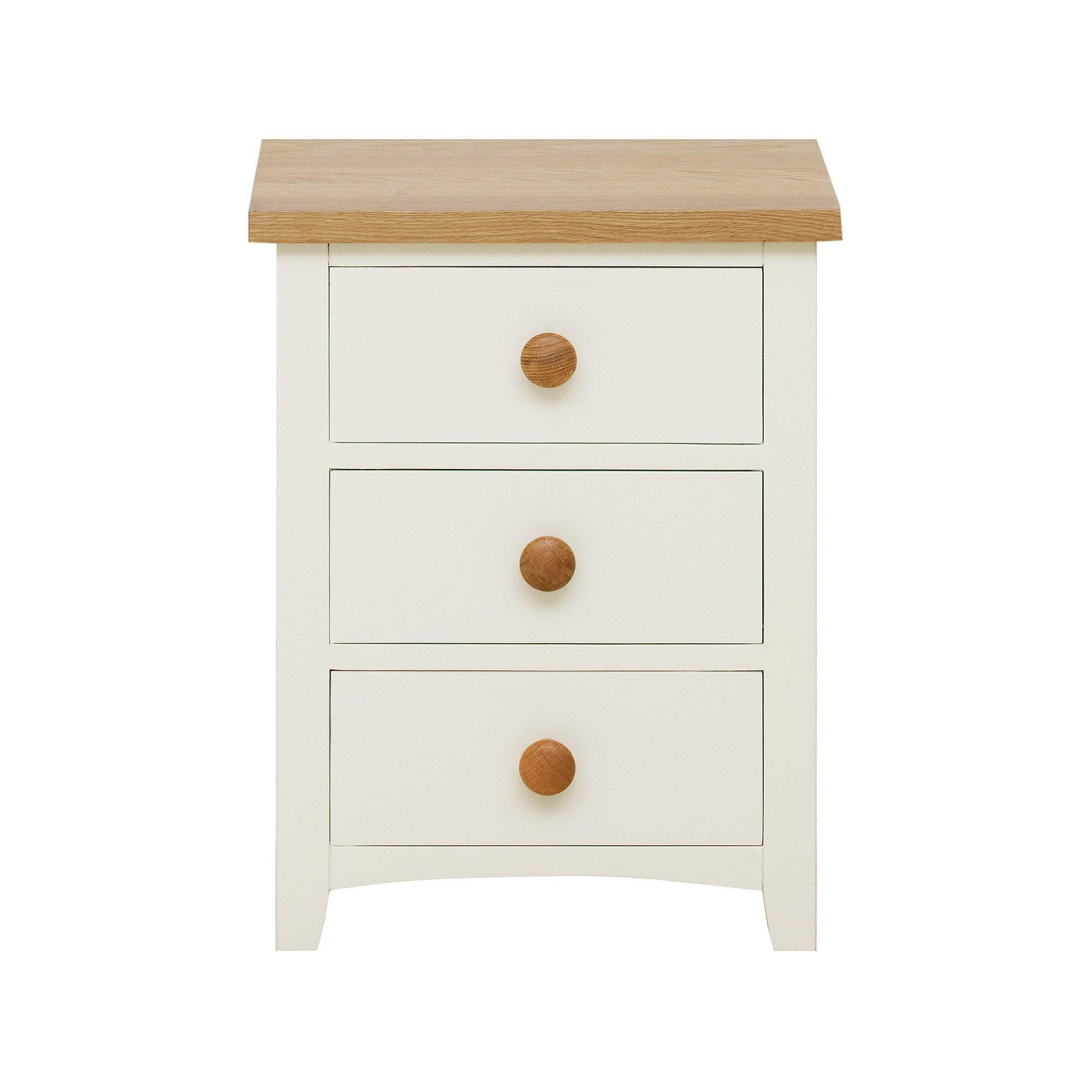 Truro Oak Bedside Cabinet