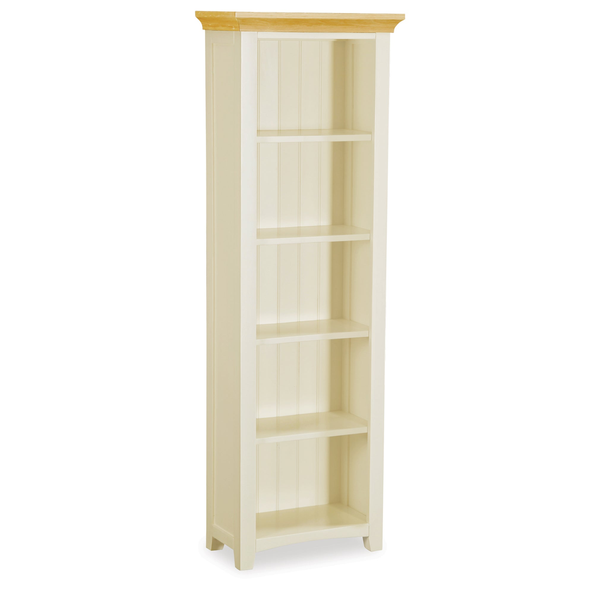 Truro Oak Slim Bookcase
