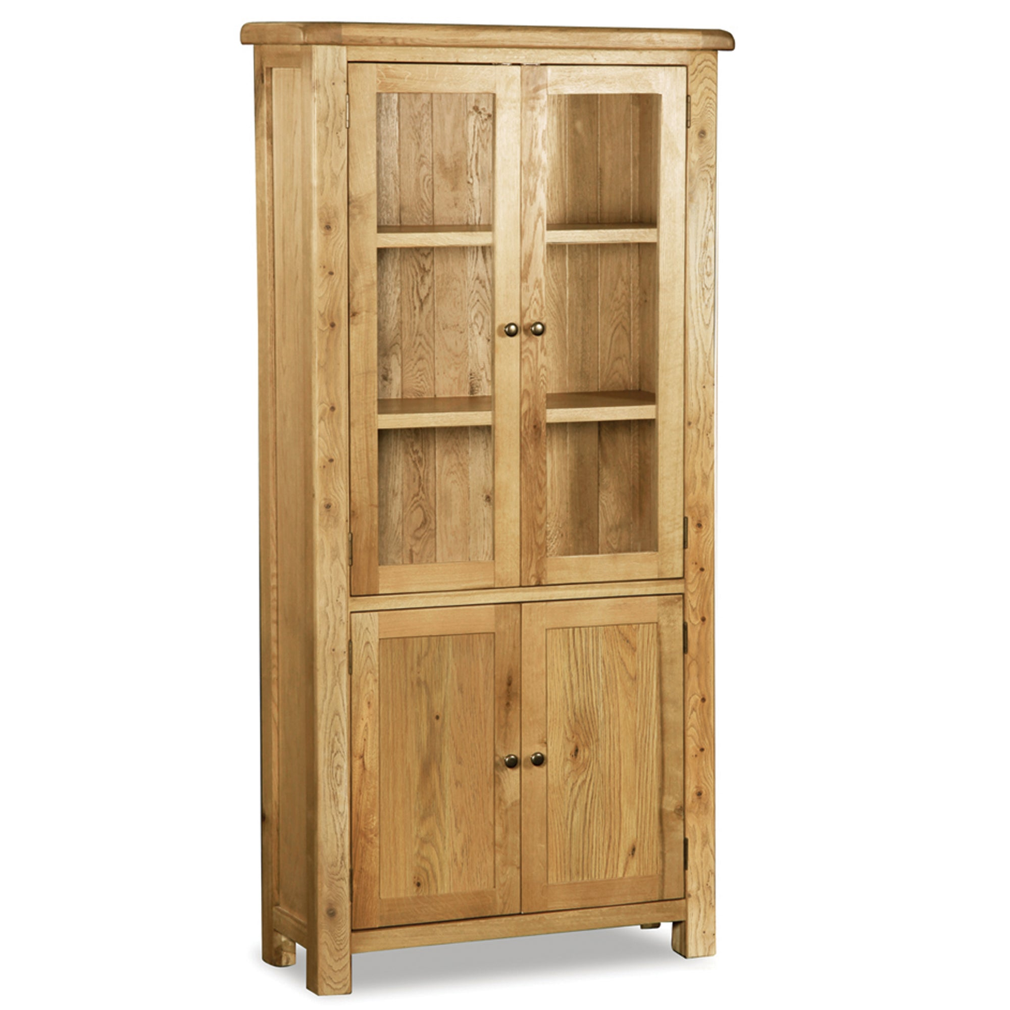 Wexford Oak Display Cabinet