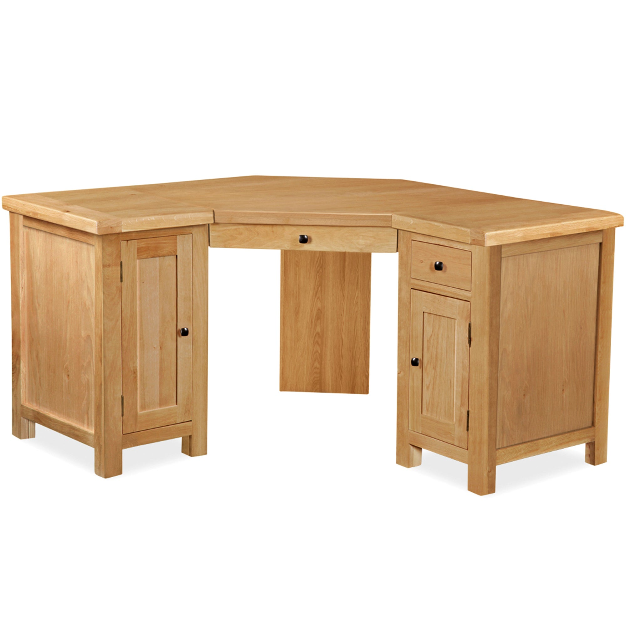 Harrogate Oak Corner Desk