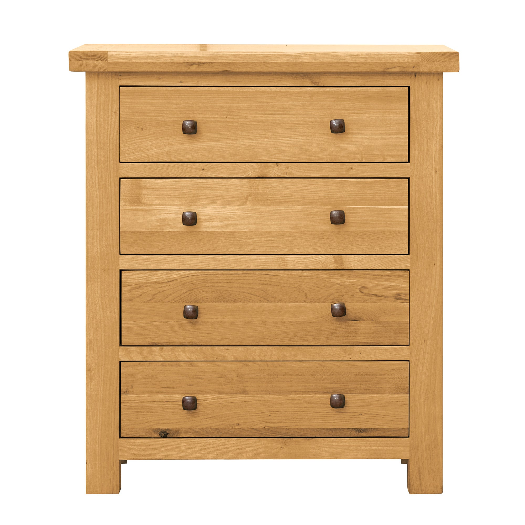Harrogate Oak 4 Drawer Chest