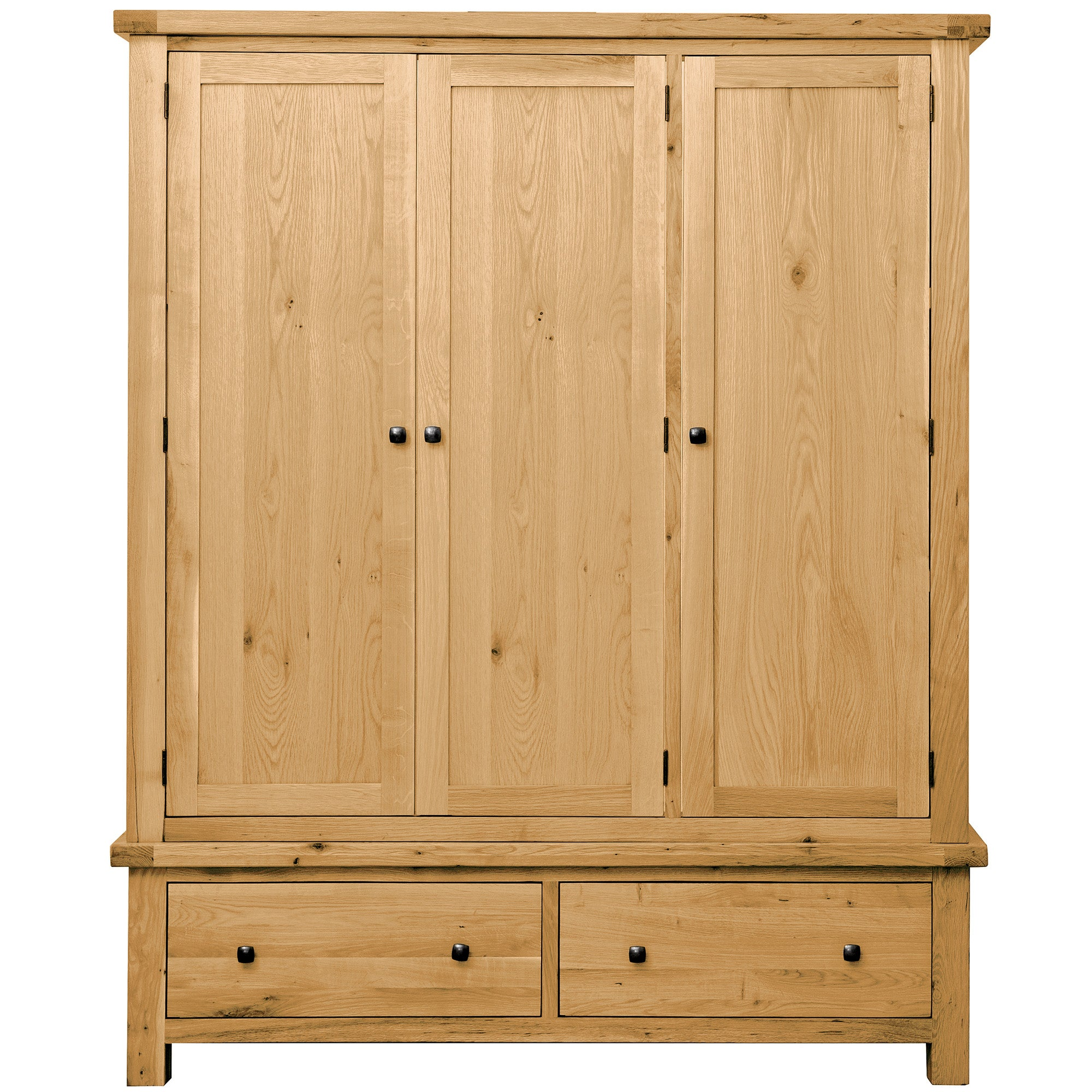 Harrogate Oak Triple Wardrobe