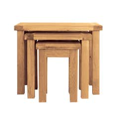 Harrogate Oak Nest of Tables