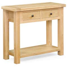 Harrogate Oak Console Table