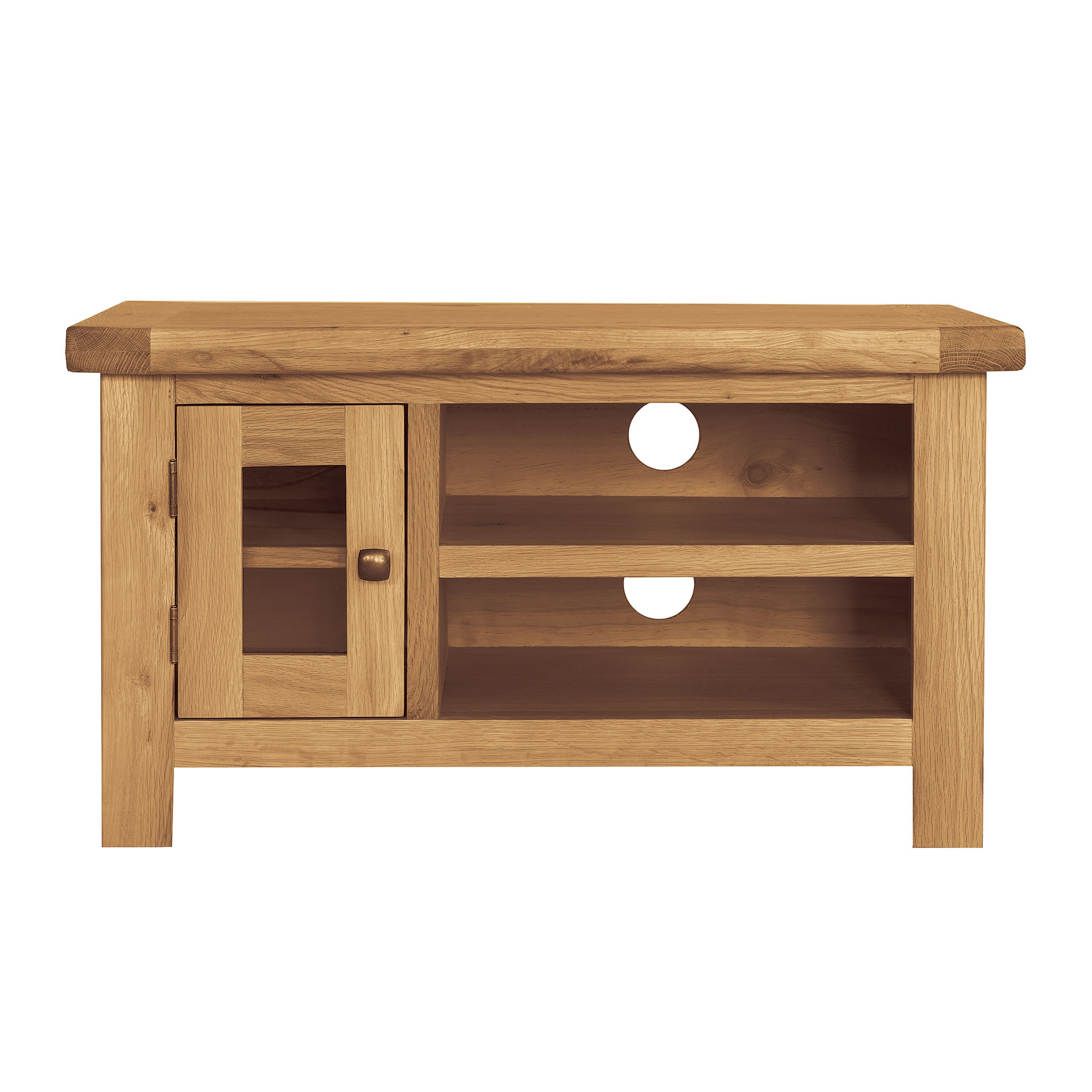 Harrogate Oak TV Unit
