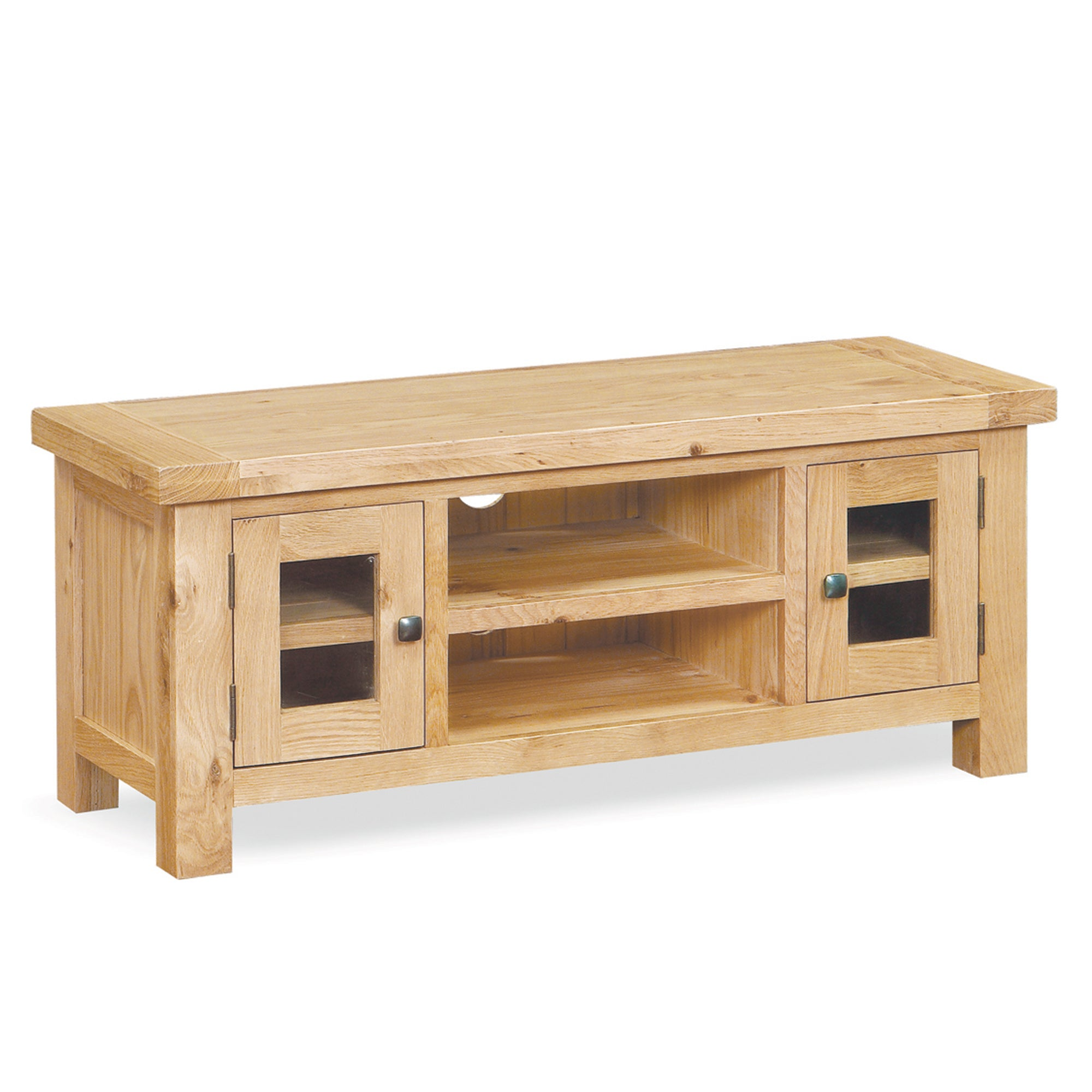 Harrogate Oak Large TV Unit