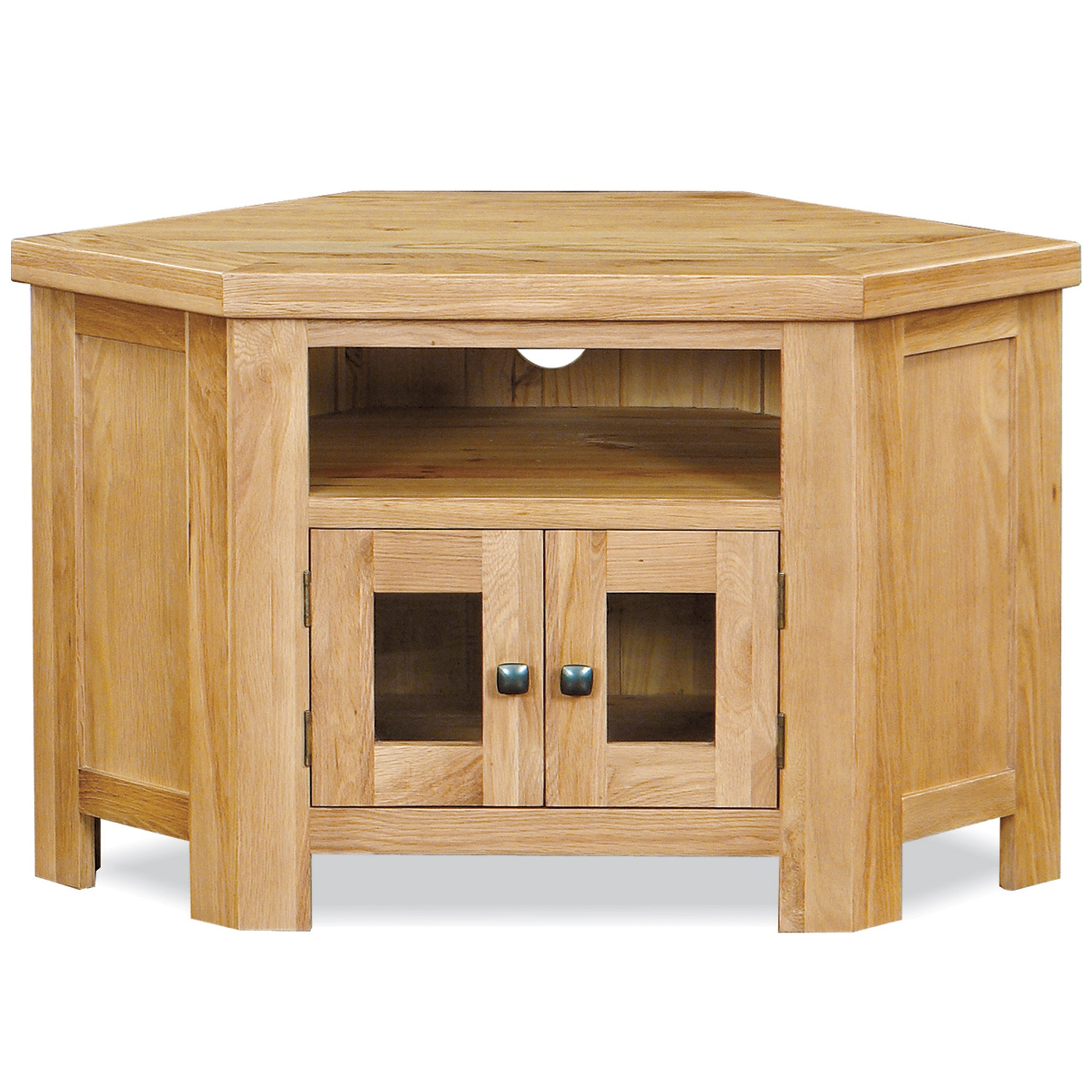 Harrogate Oak Corner TV Unit