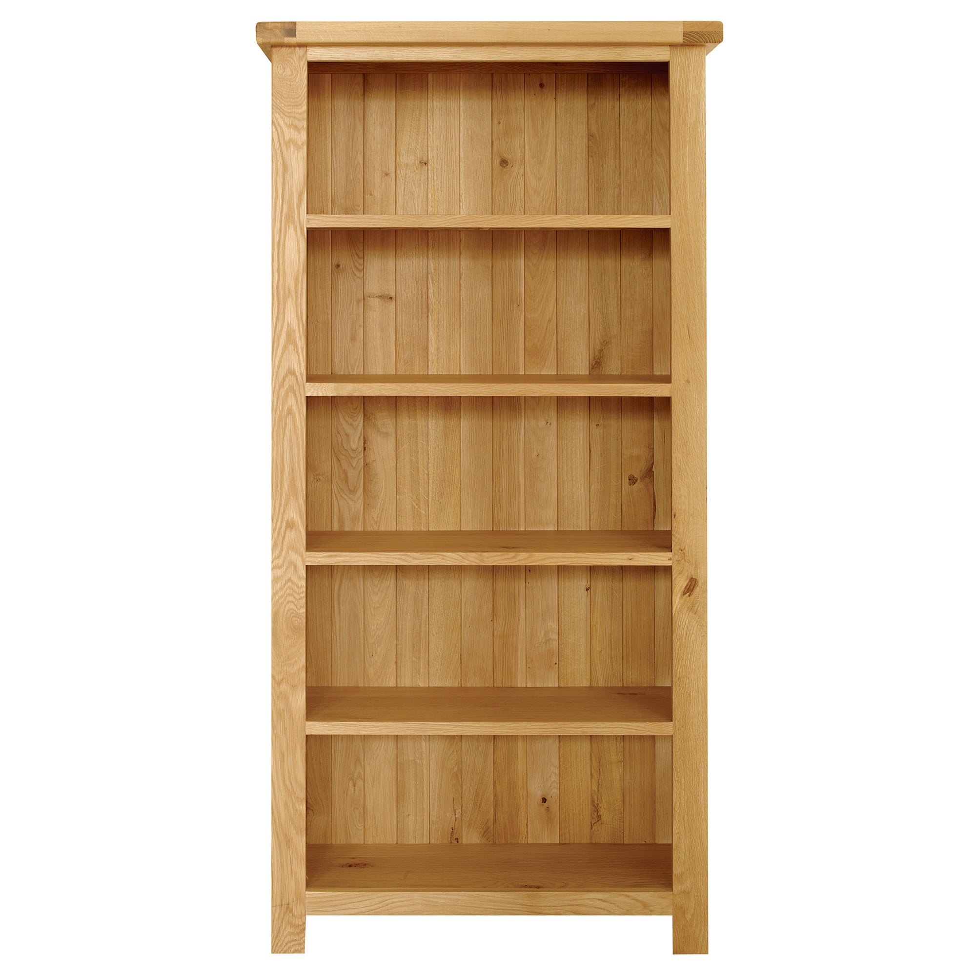 Harrogate Oak Large Bookcase