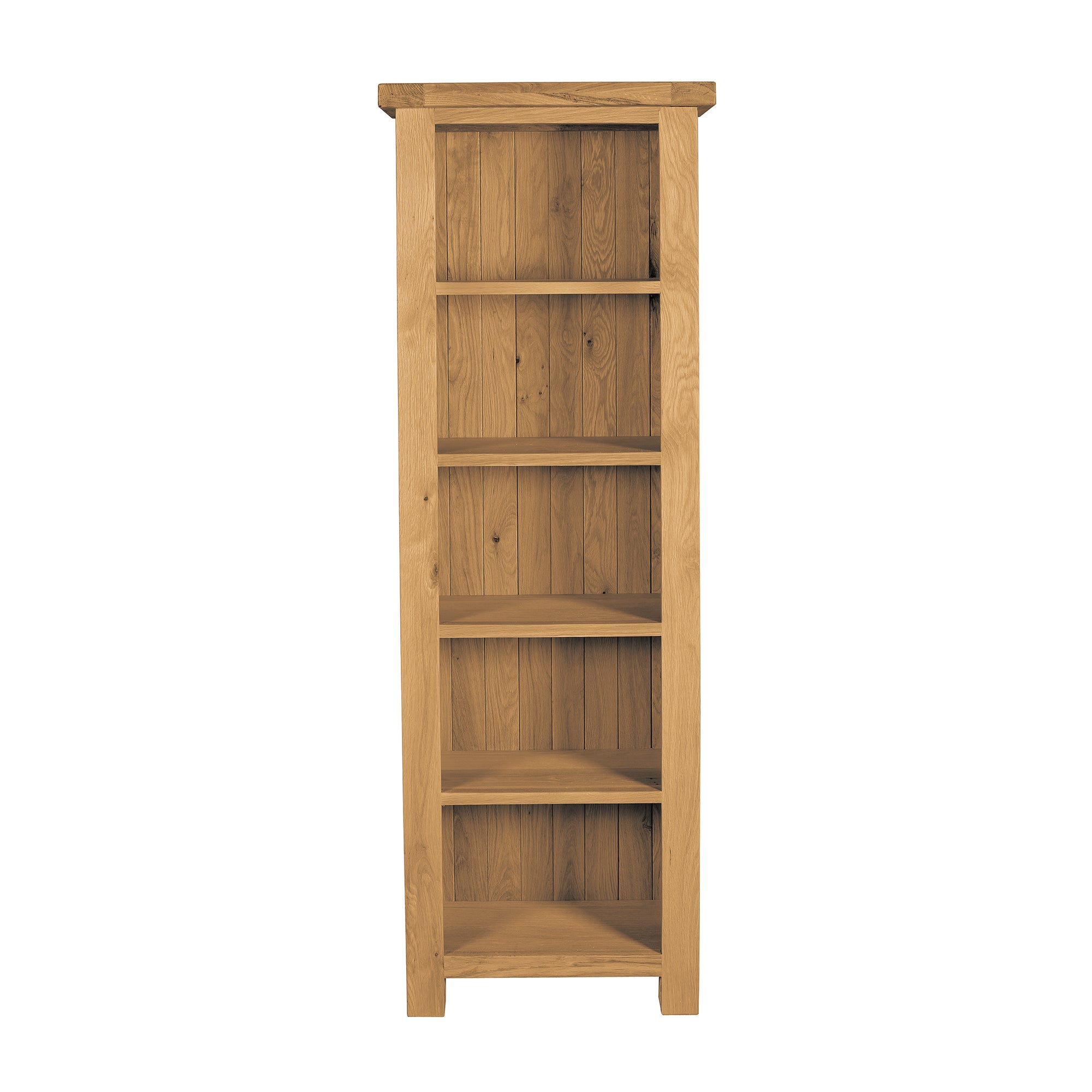 Harrogate Oak Slim Bookcase