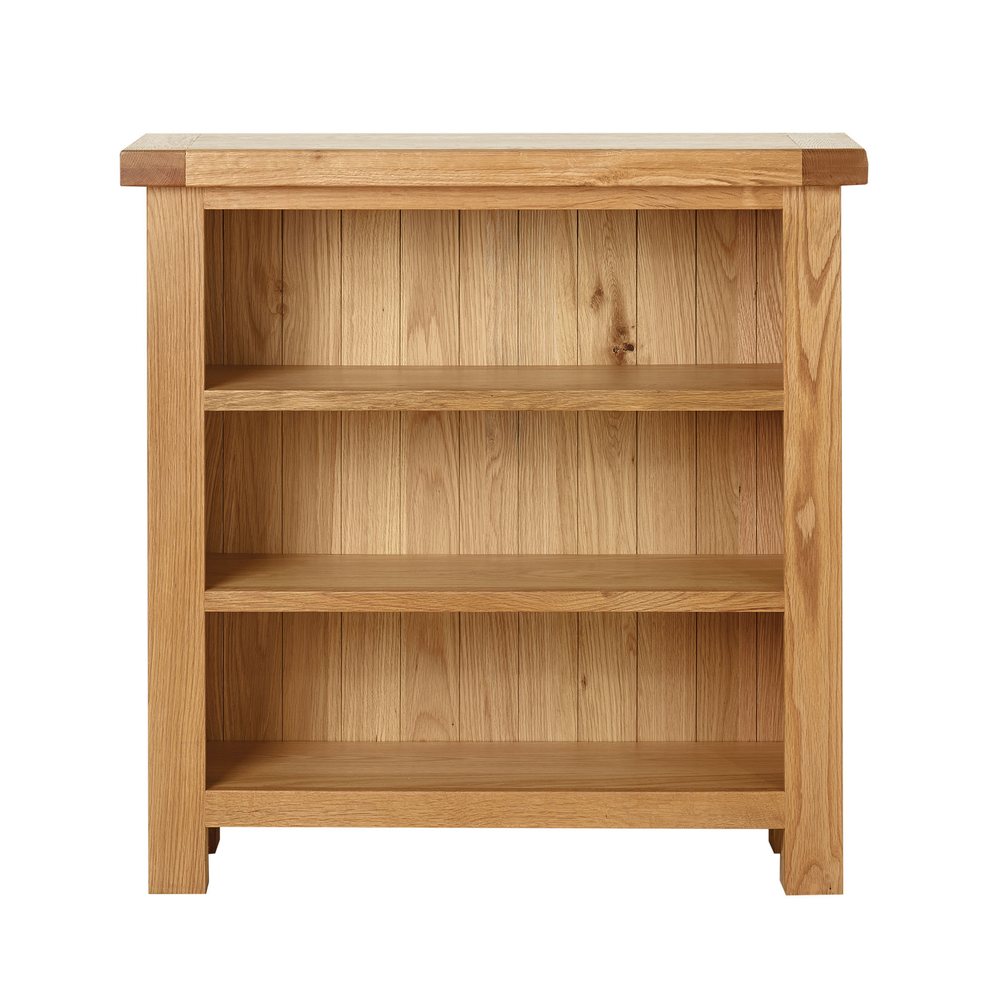 Harrogate Oak Low Bookcase