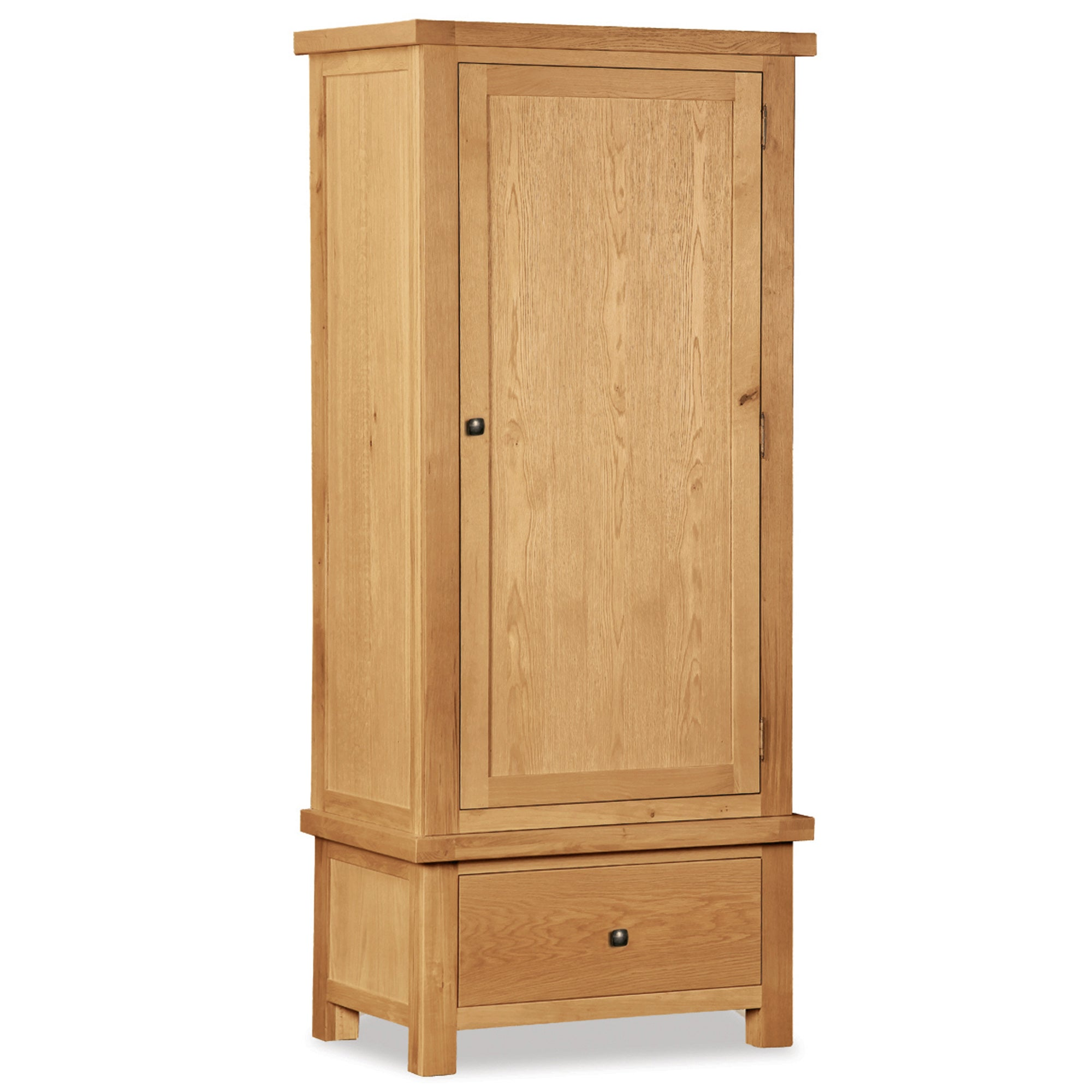 Harrogate Oak Single Wardrobe