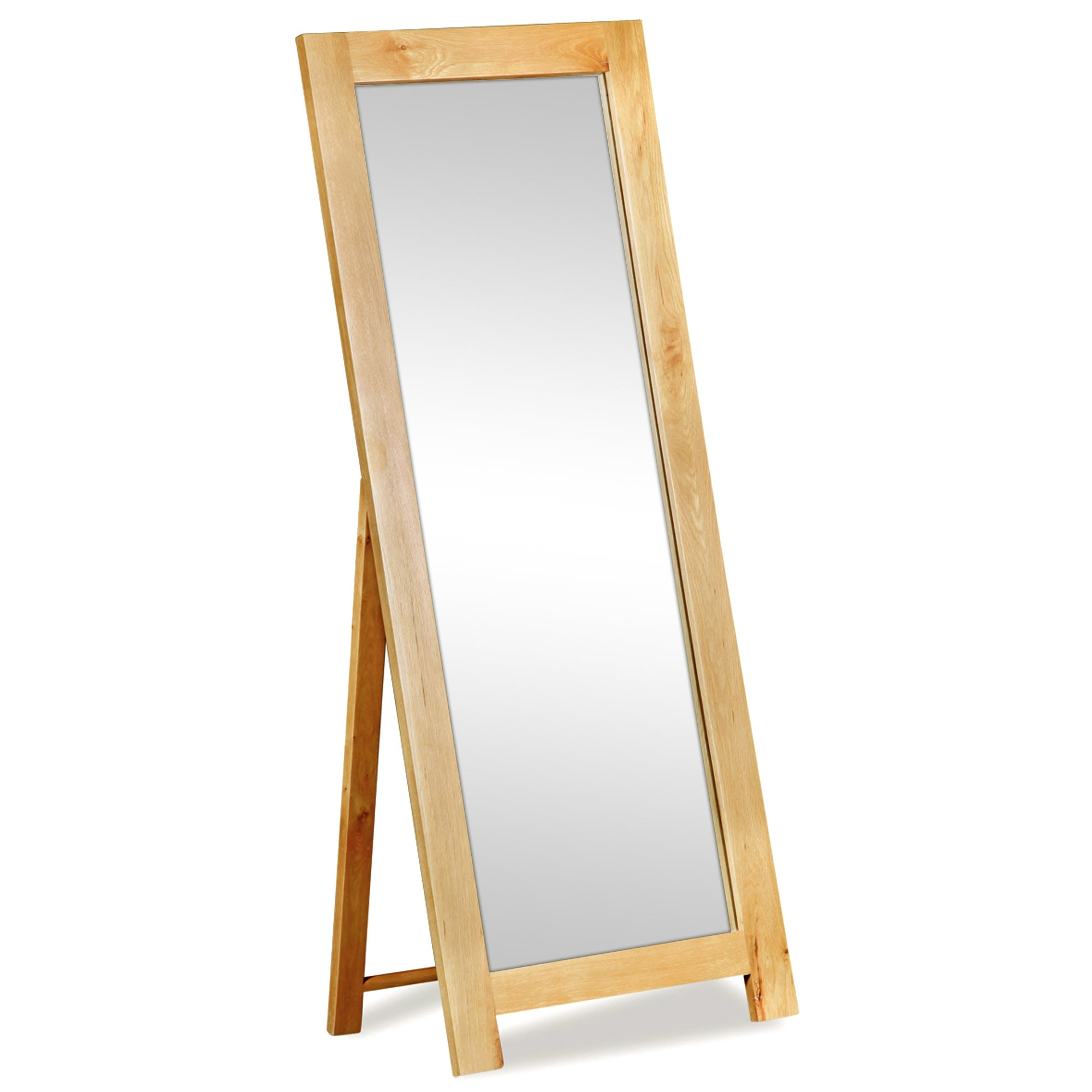 Harrogate Oak Cheval Mirror