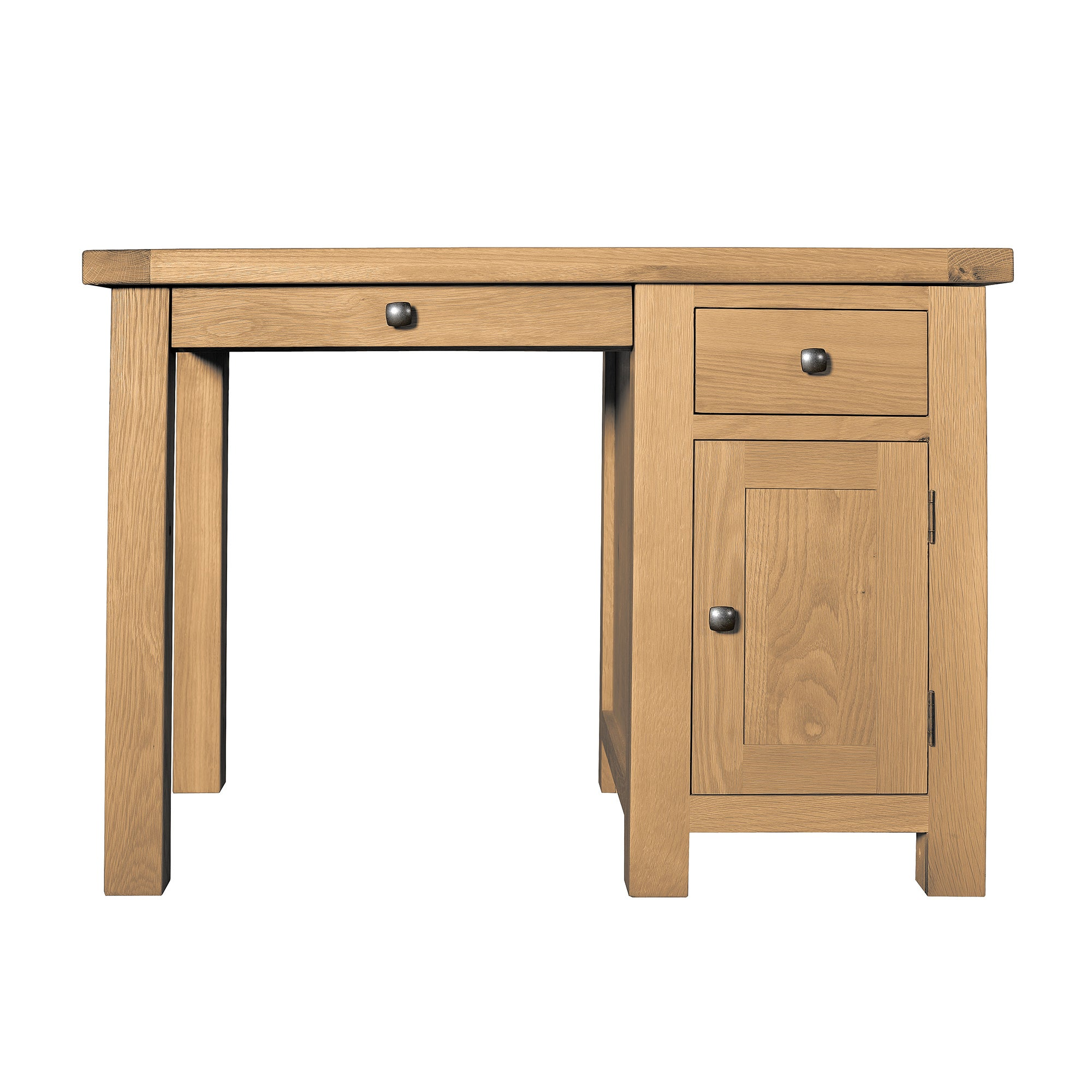 Harrogate Oak Single Desk