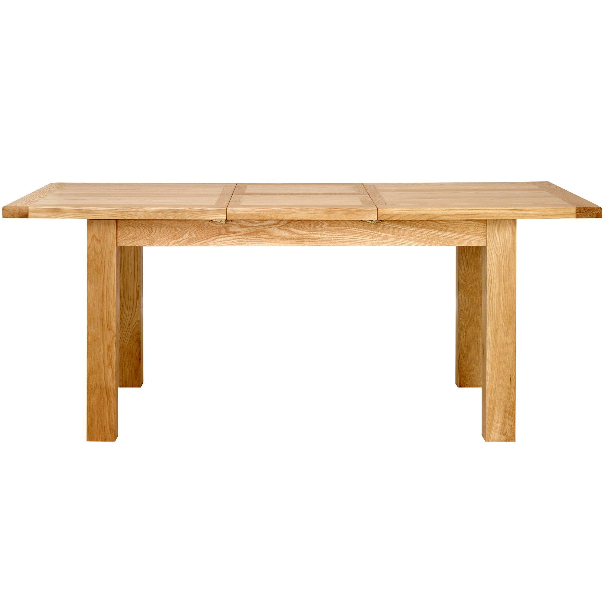 Harrogate Oak Compact Extending Dining Table