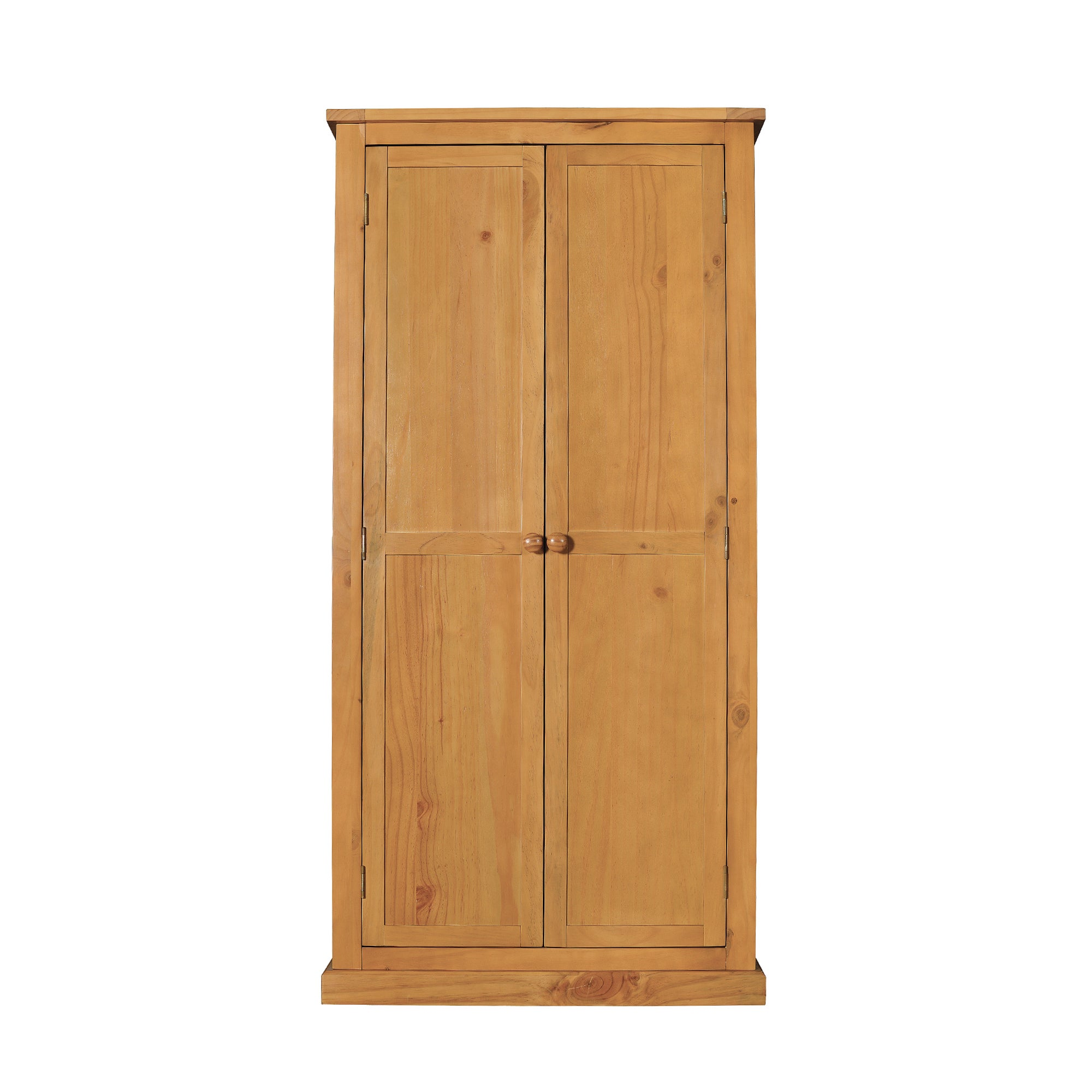 Newhaven Pine Full Length Wardrobe