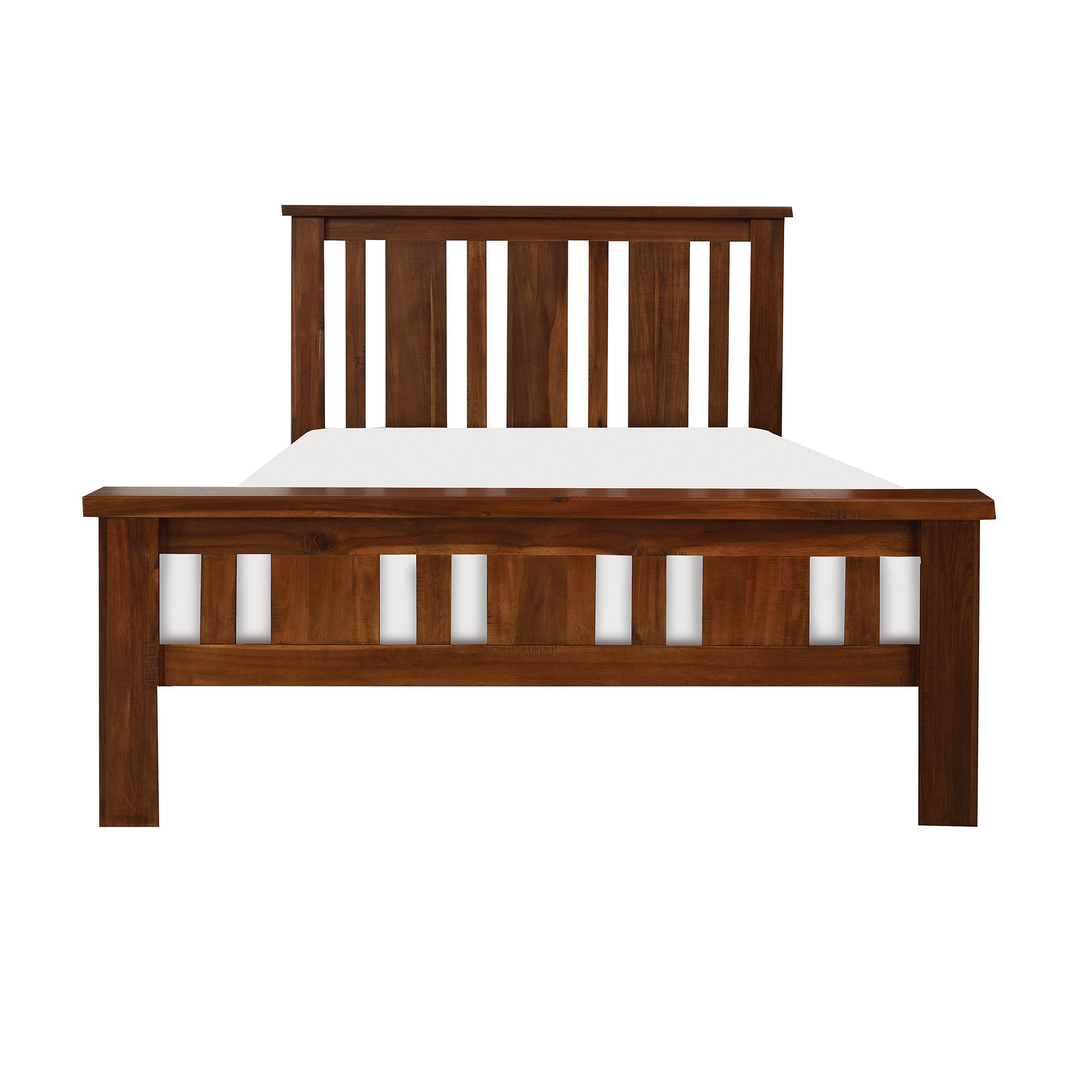 Oxford Acacia Dark Wood Bedstead