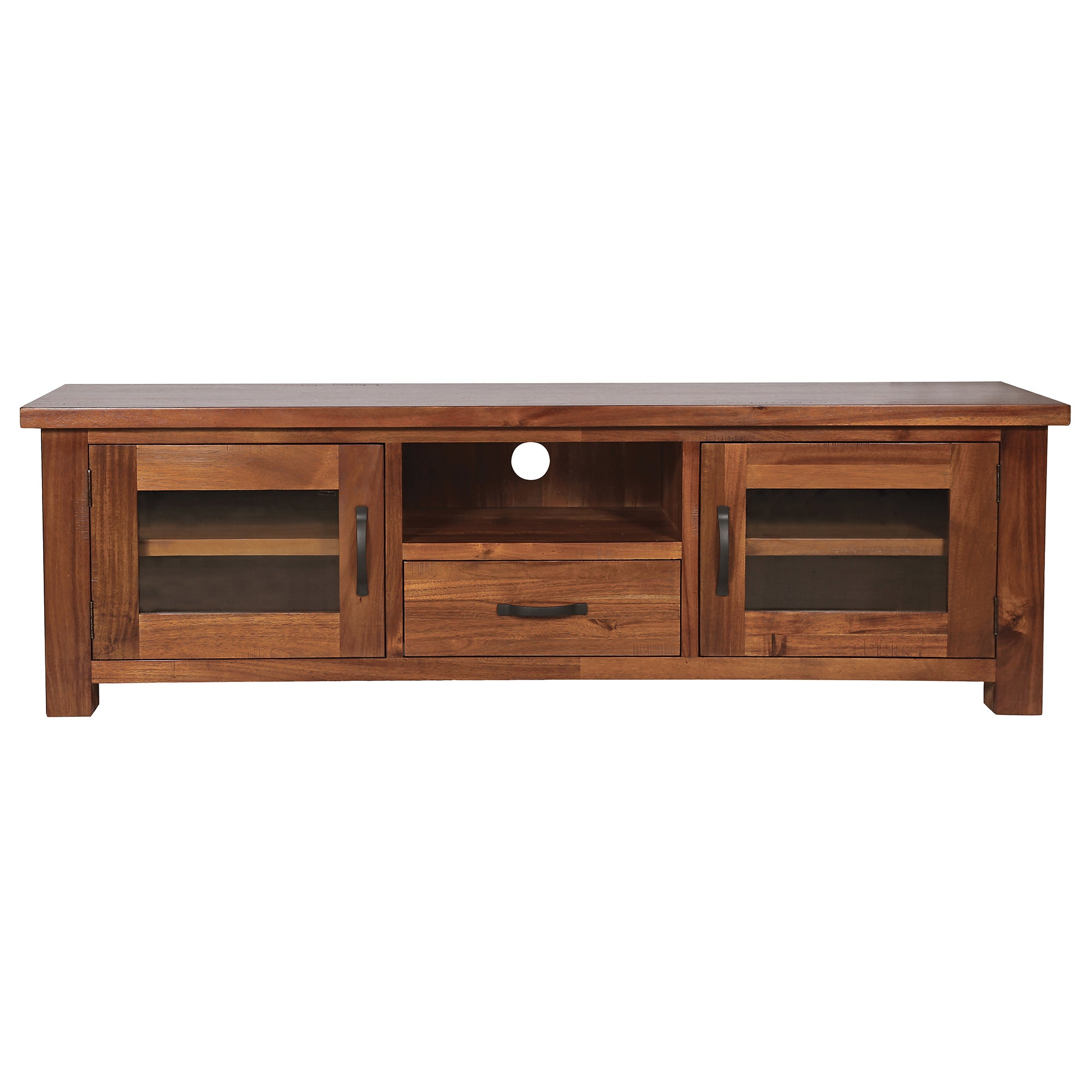 Oxford Acacia Dark Wood Large TV Unit