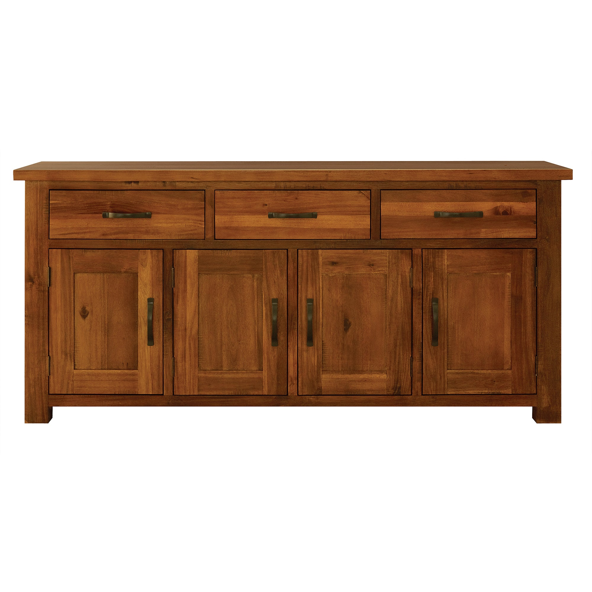 Oxford Acacia Dark Wood Large Sideboard