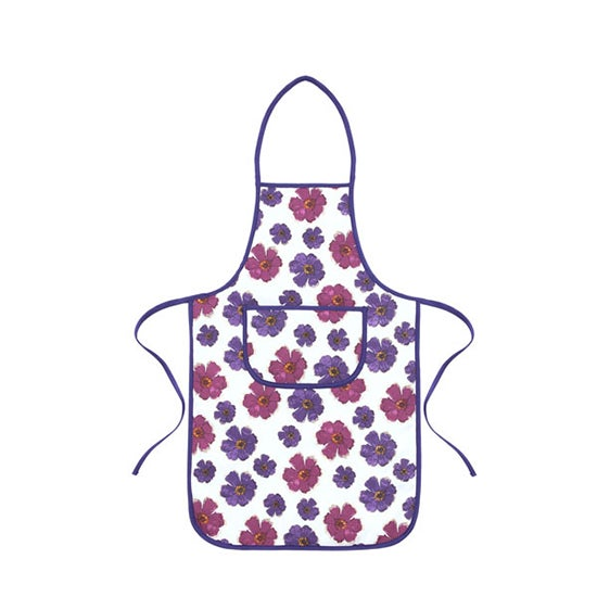 Mulberry Flower Collection Padded Apron