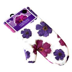 Mulberry Flower Collection Single Oven Glove