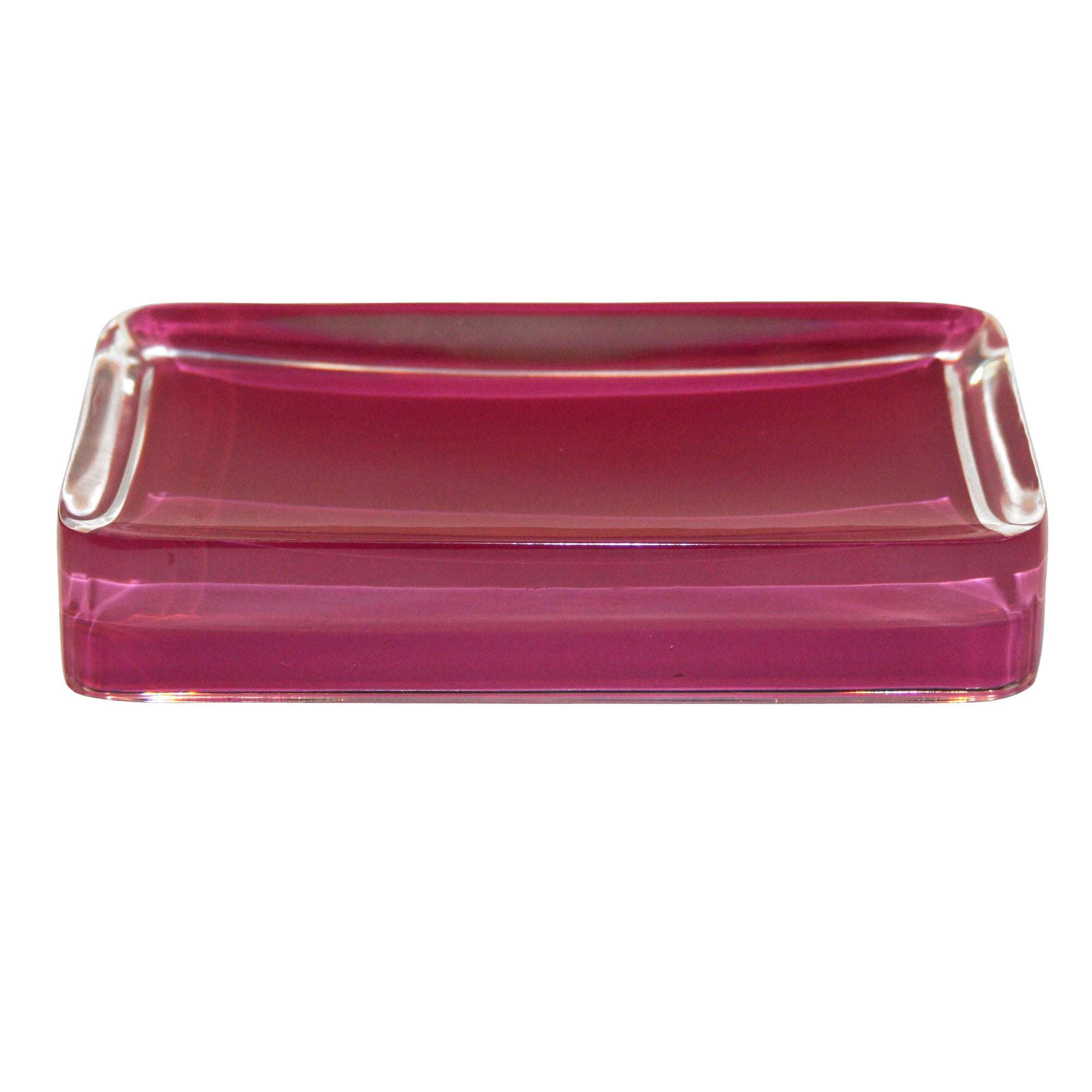 Raspberry Brights Collection Acrylic Soap Dish