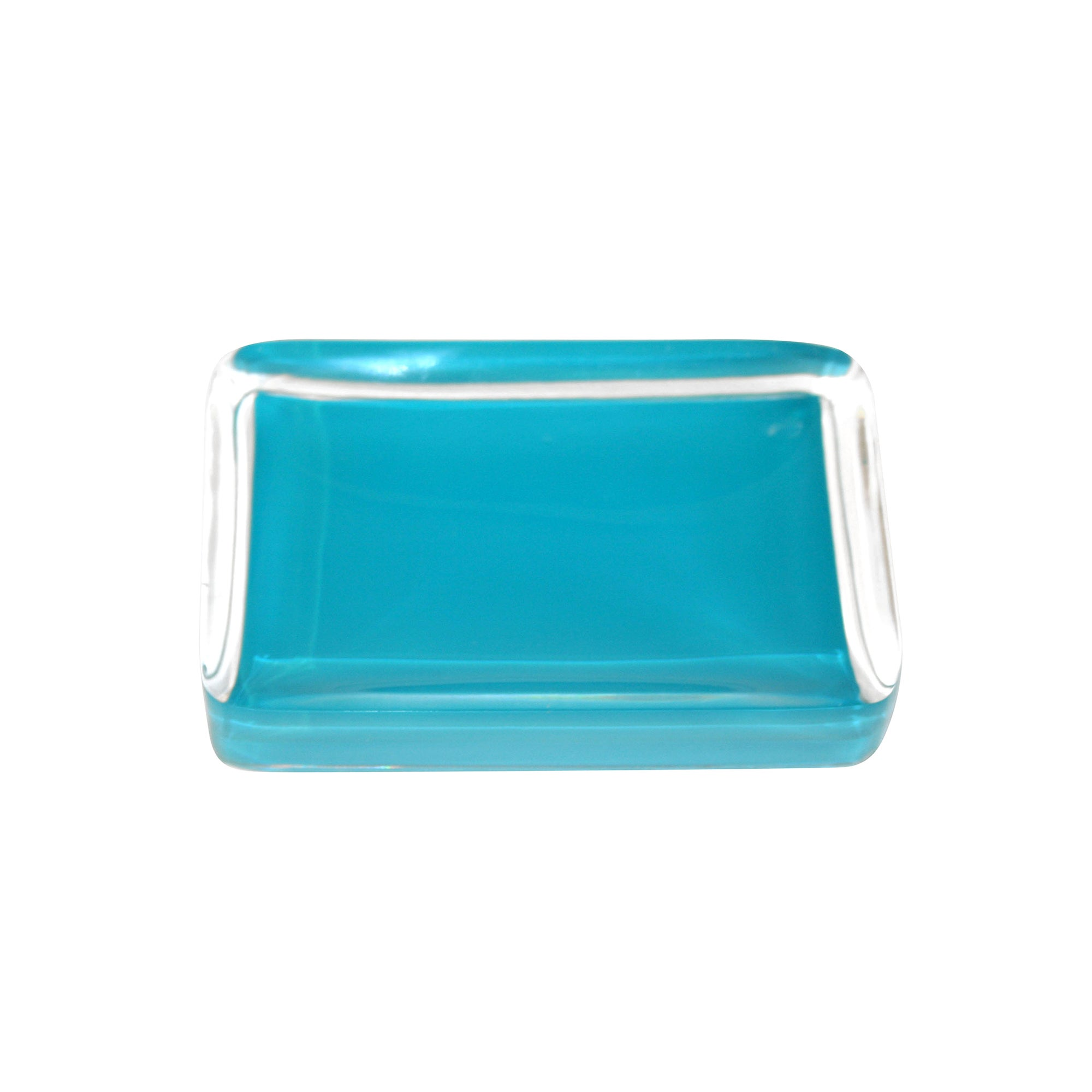 Teal Brights Collection Soap Dish