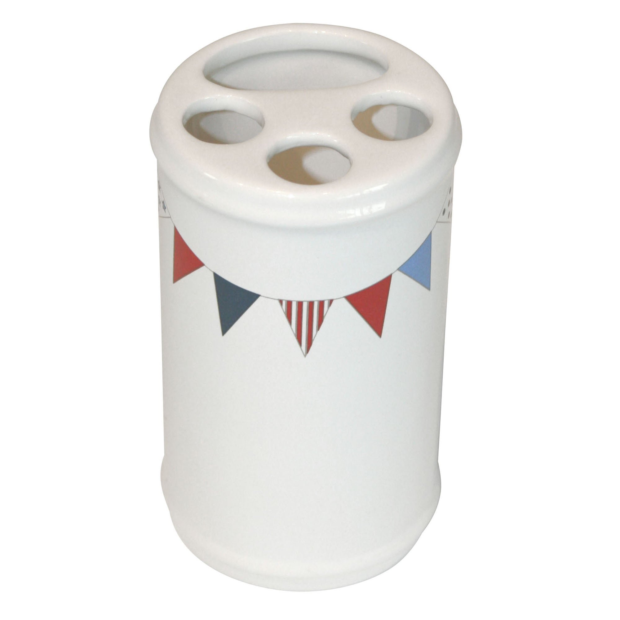 Bunting Collection Toothbrush Holder