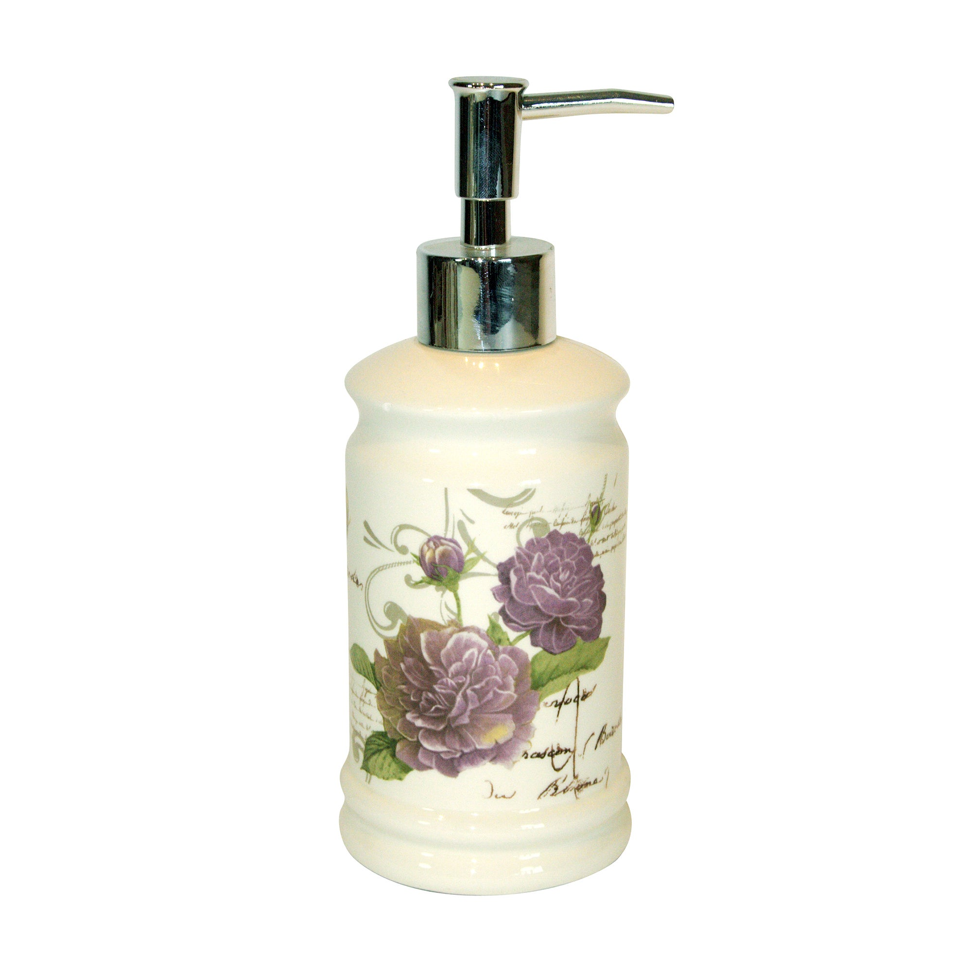 Grape Florence Collection Soap Dispenser
