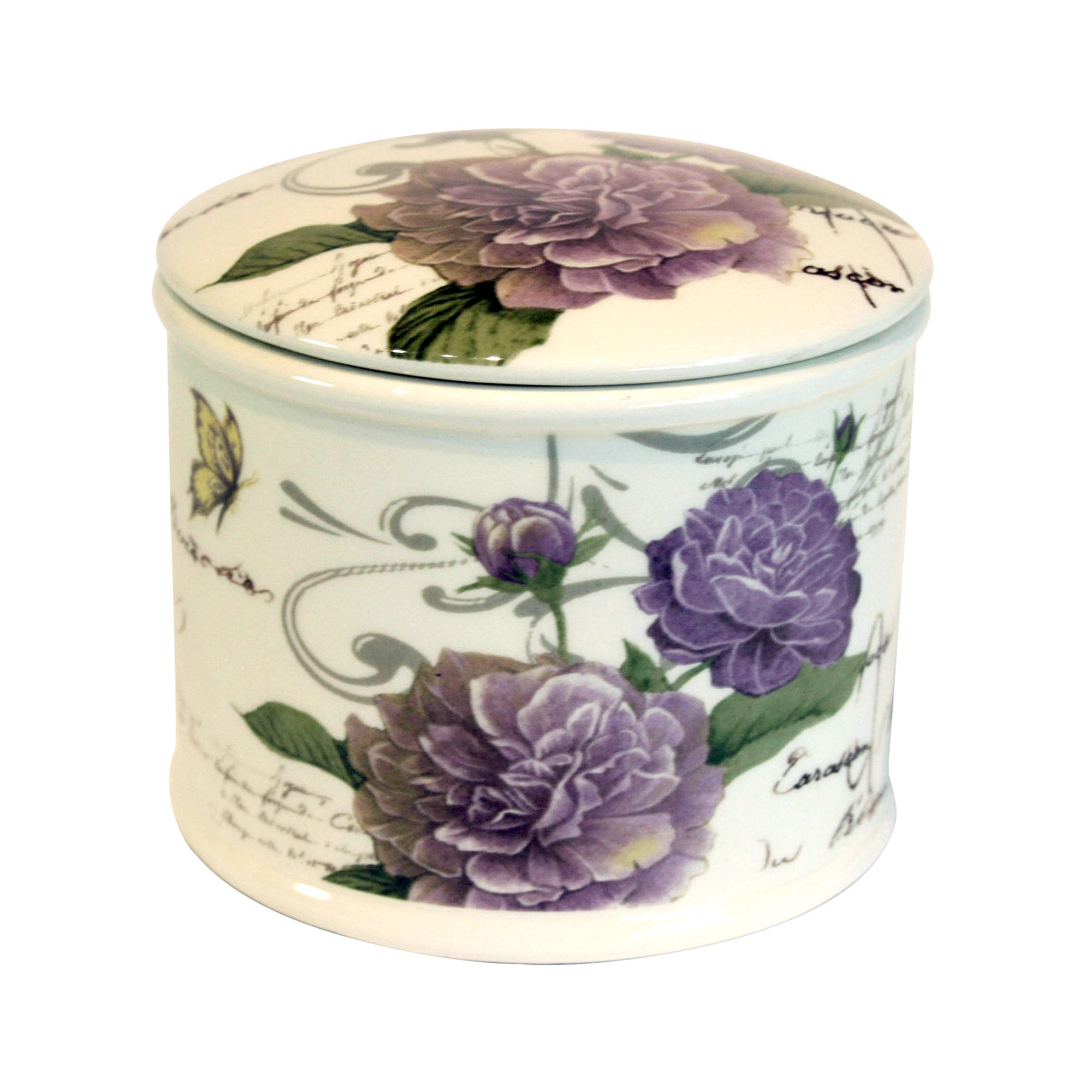 Grape Florence Collection Trinket Pot