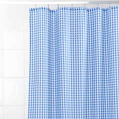 Gingham Shower Curtain