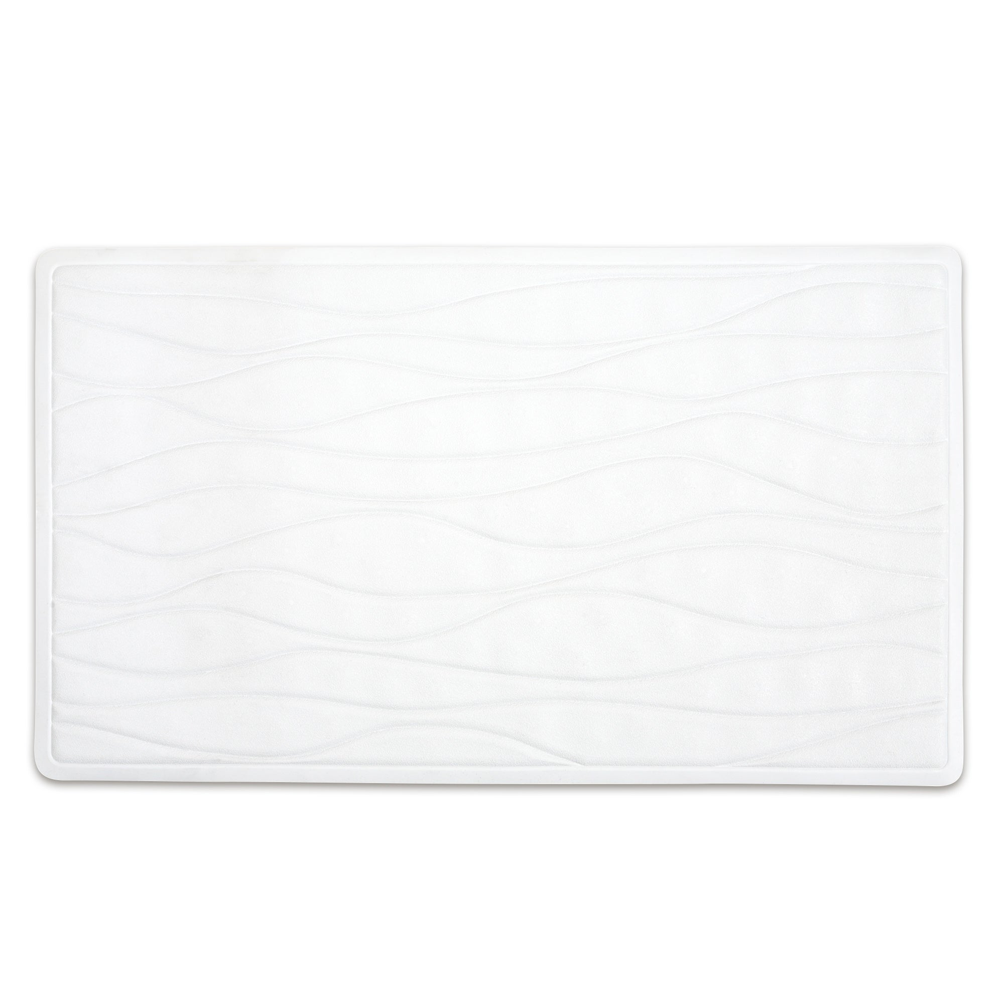 Natural Ripple Ultra Safe Bath Mat