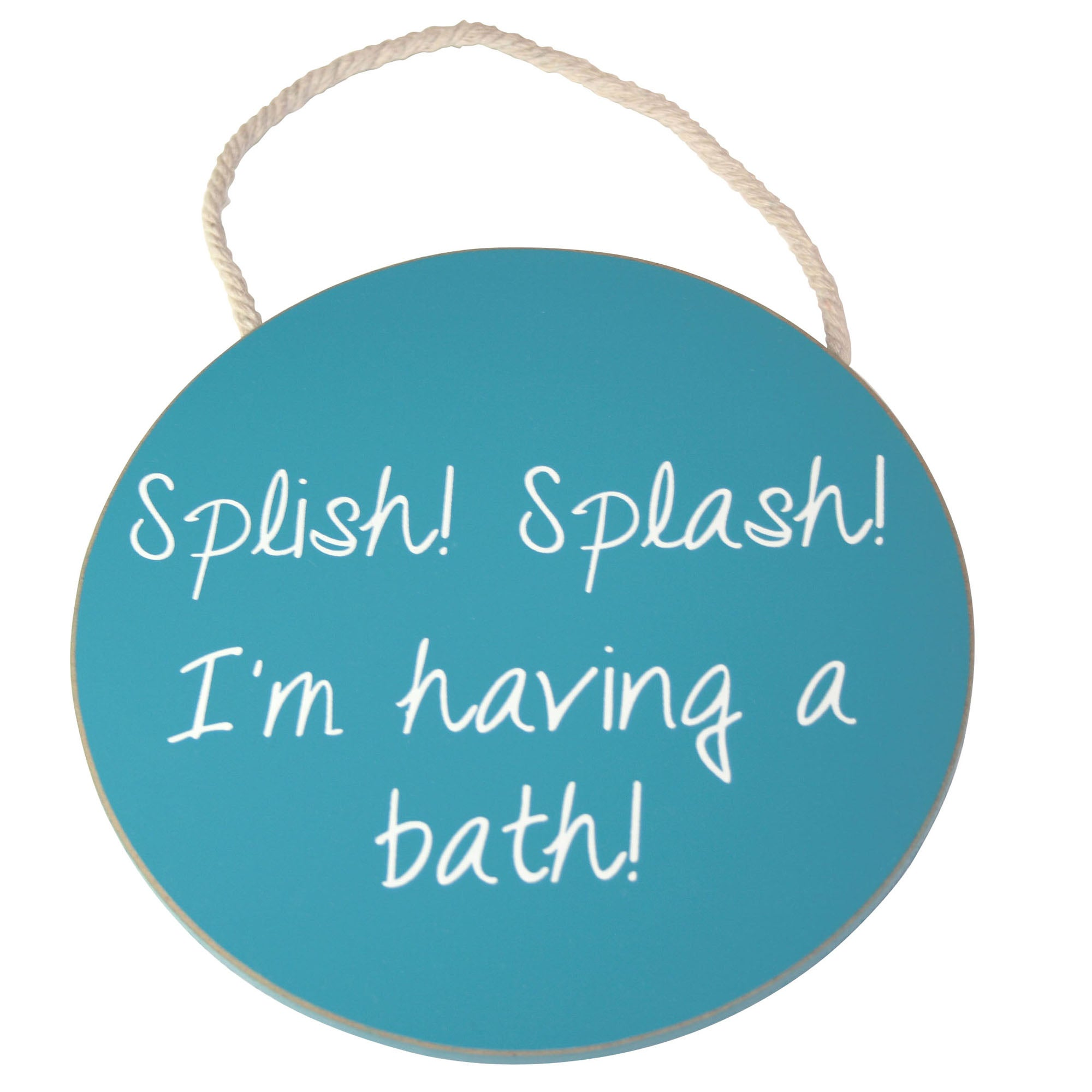 Splish Splash Collection Wooden Sign