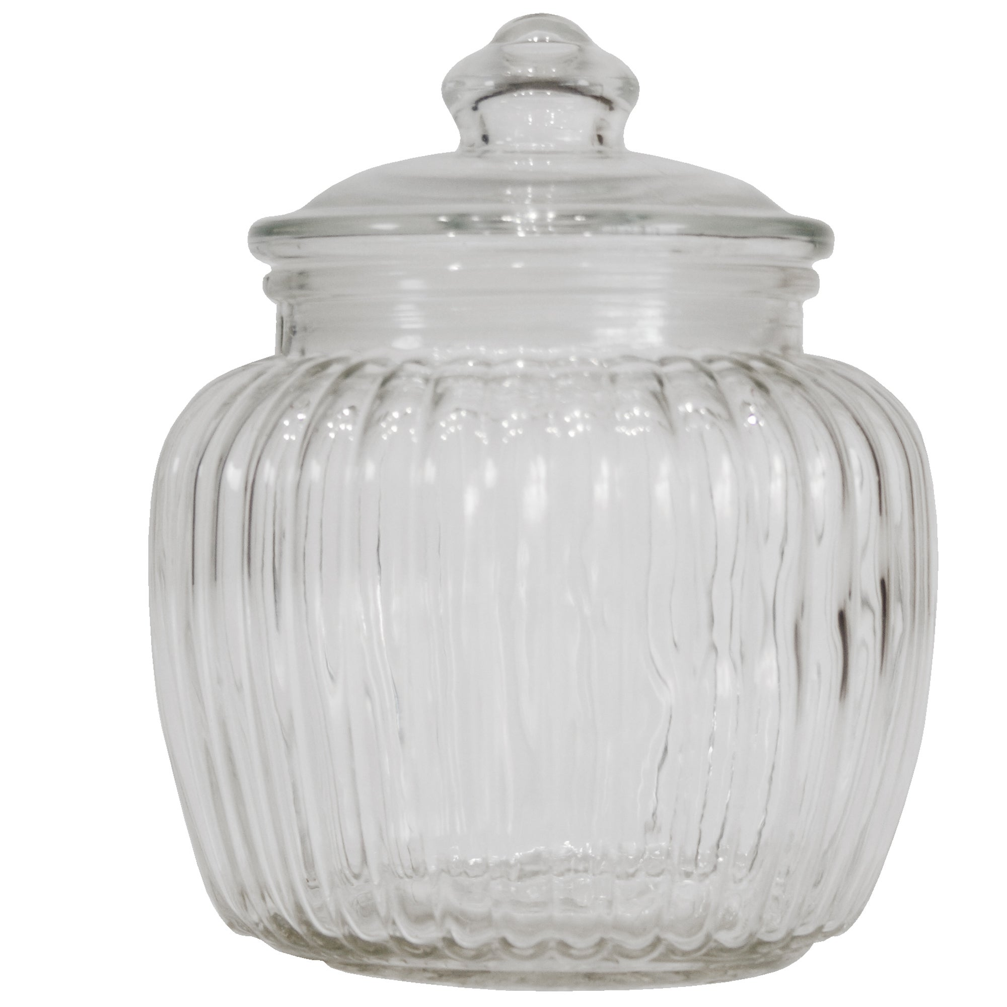 Vintage Collection Ridged Jar