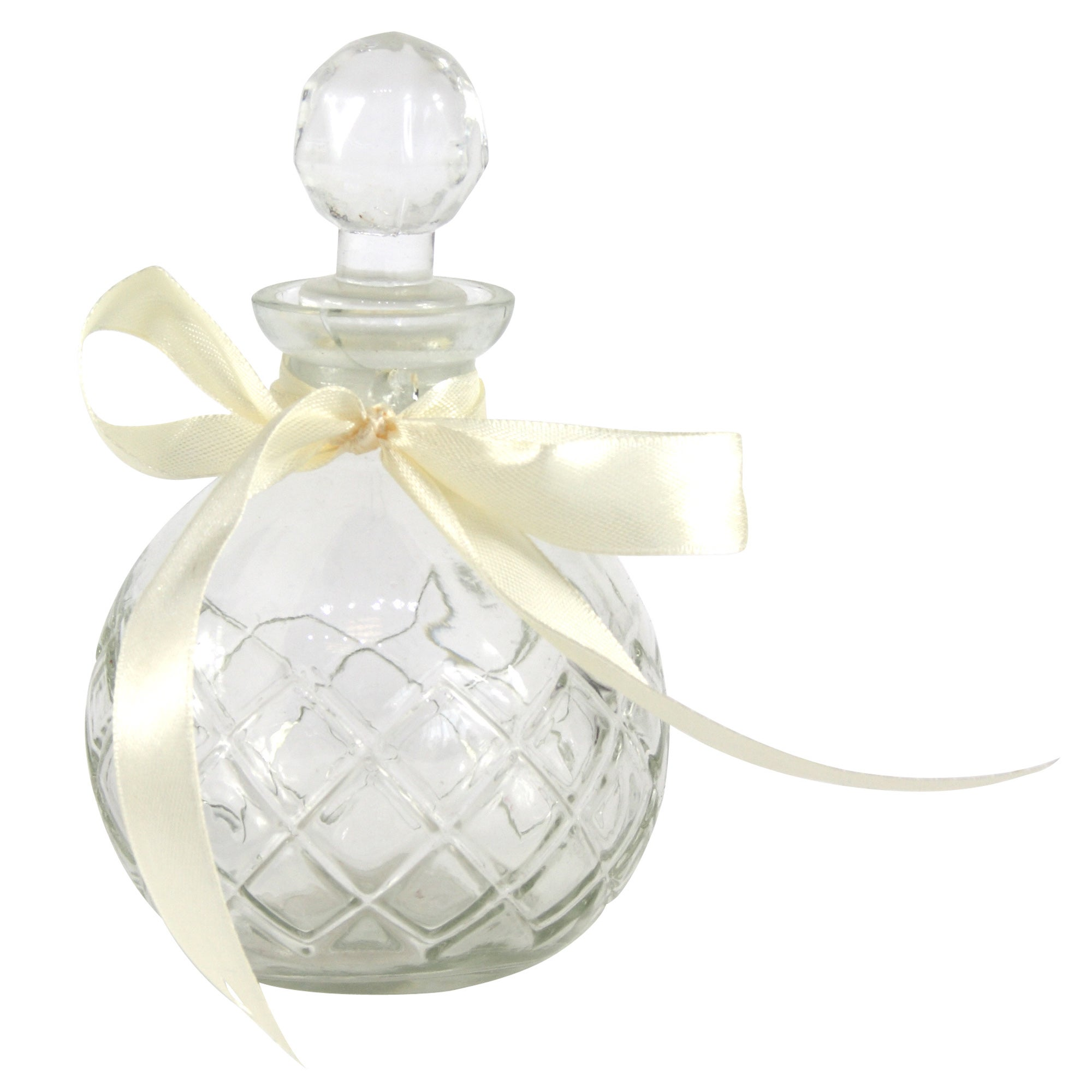 Vintage Collection Round Glass Perfume Bottle